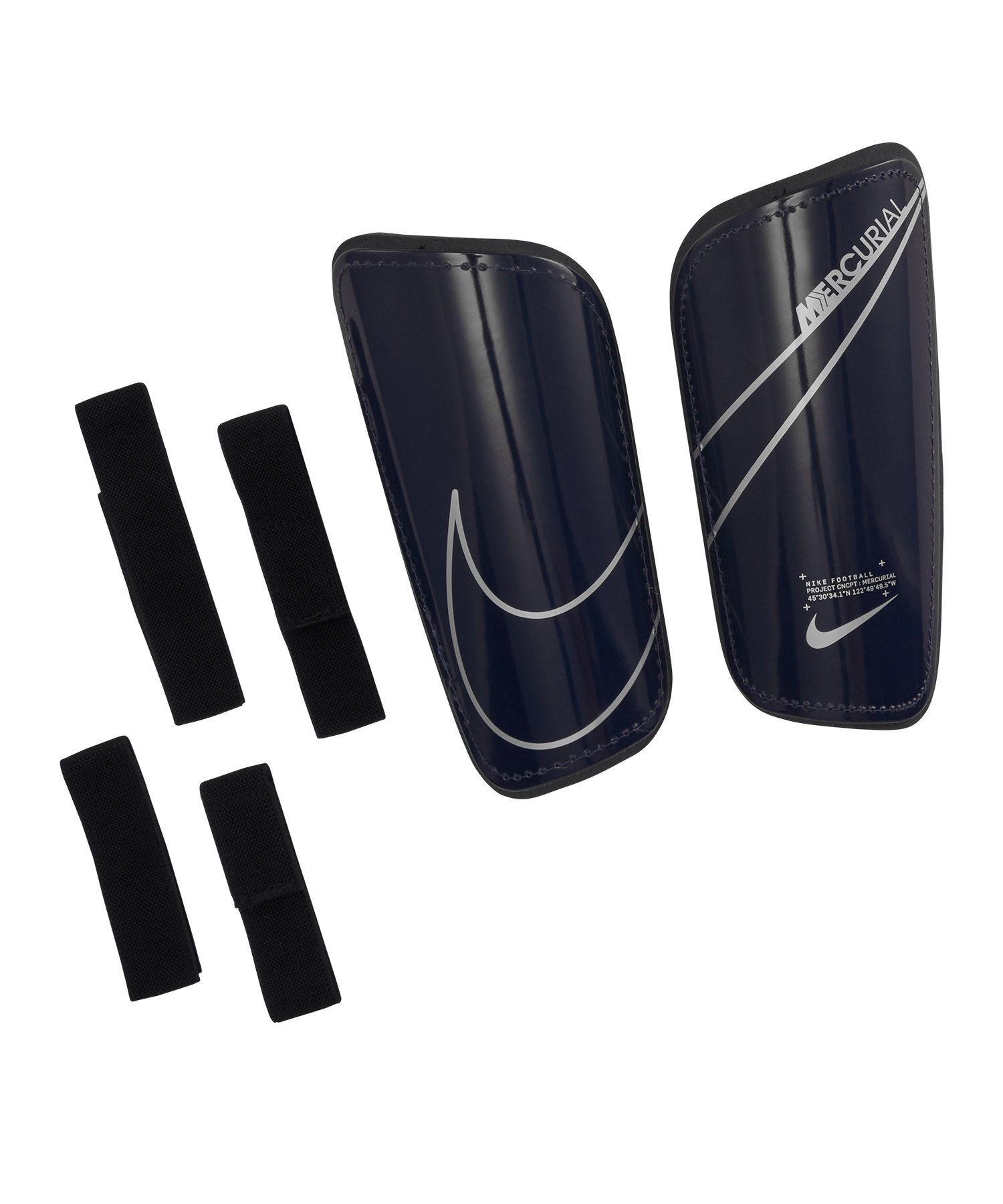 Nike Mercurial Hard Shell Schienbeinschoner F492 - blau
