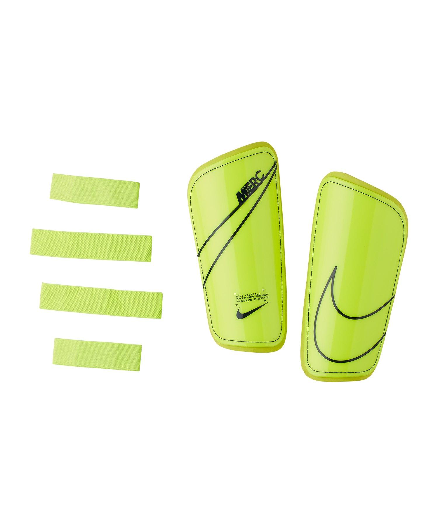 Nike Mercurial Hard Shell Schienbeinschoner F703 - gelb