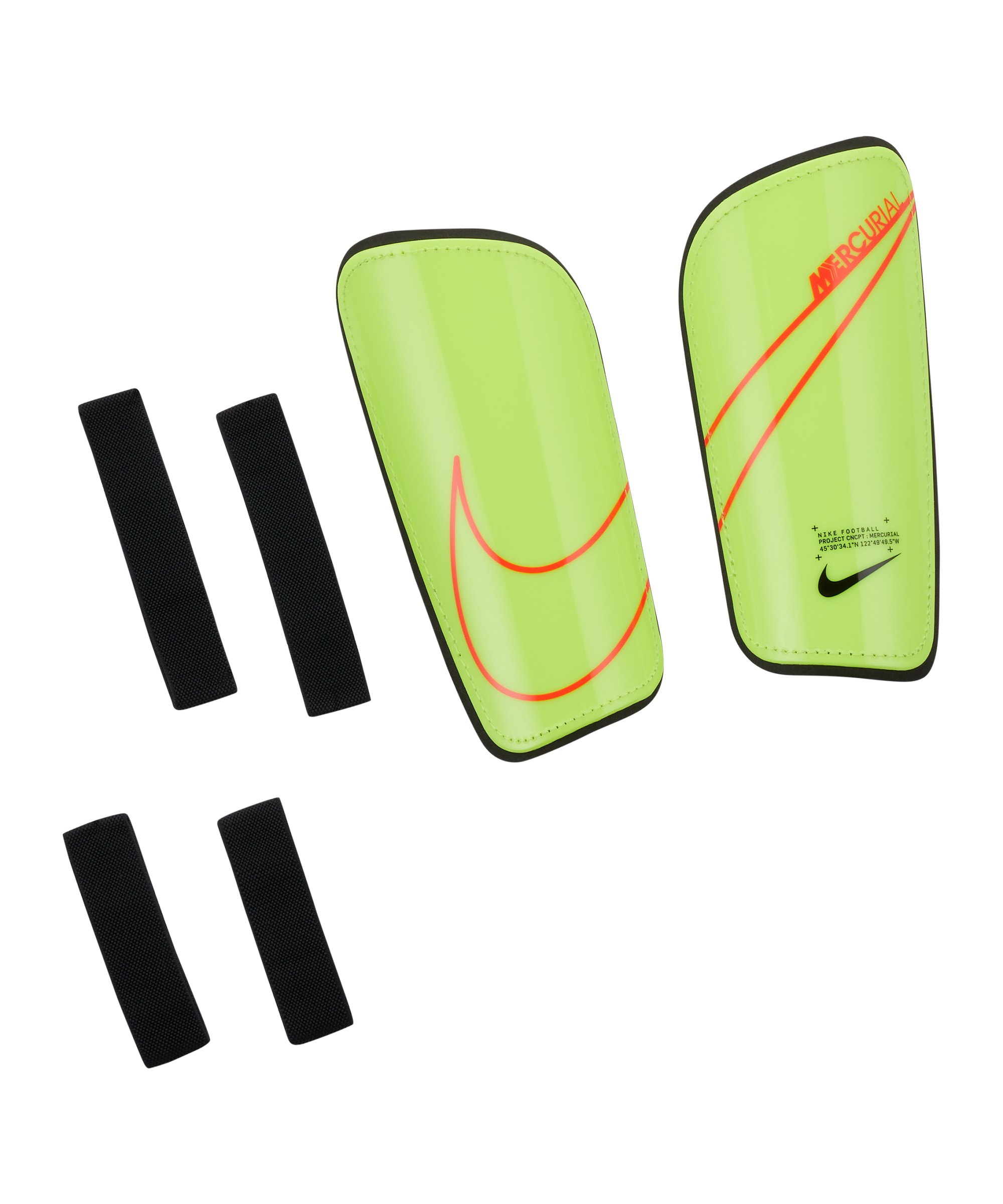 Nike Mercurial Hard Shell Schienbeinschoner F704 - gelb