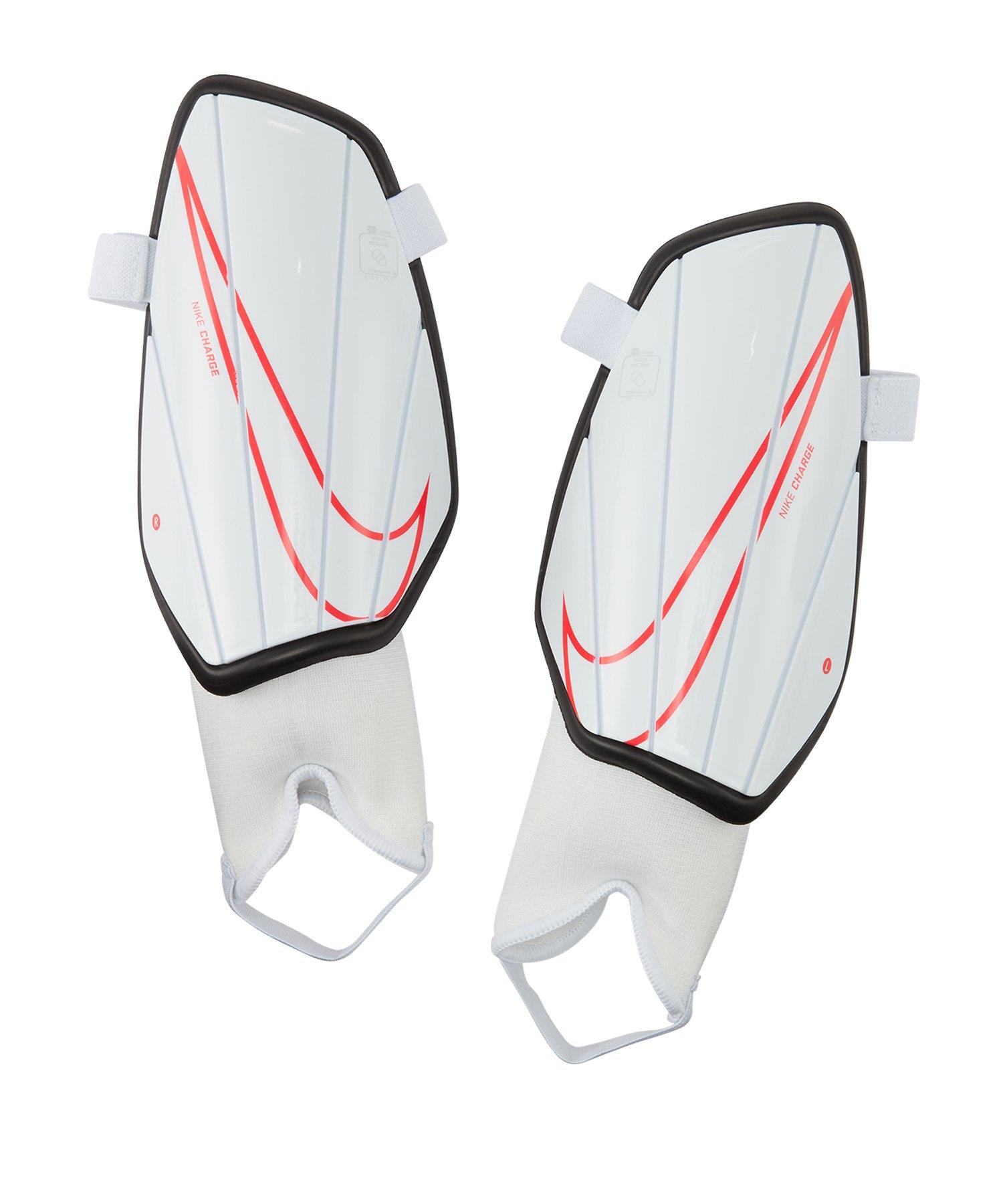 Nike Charge Schienbeinschoner Weiss F101 - weiss