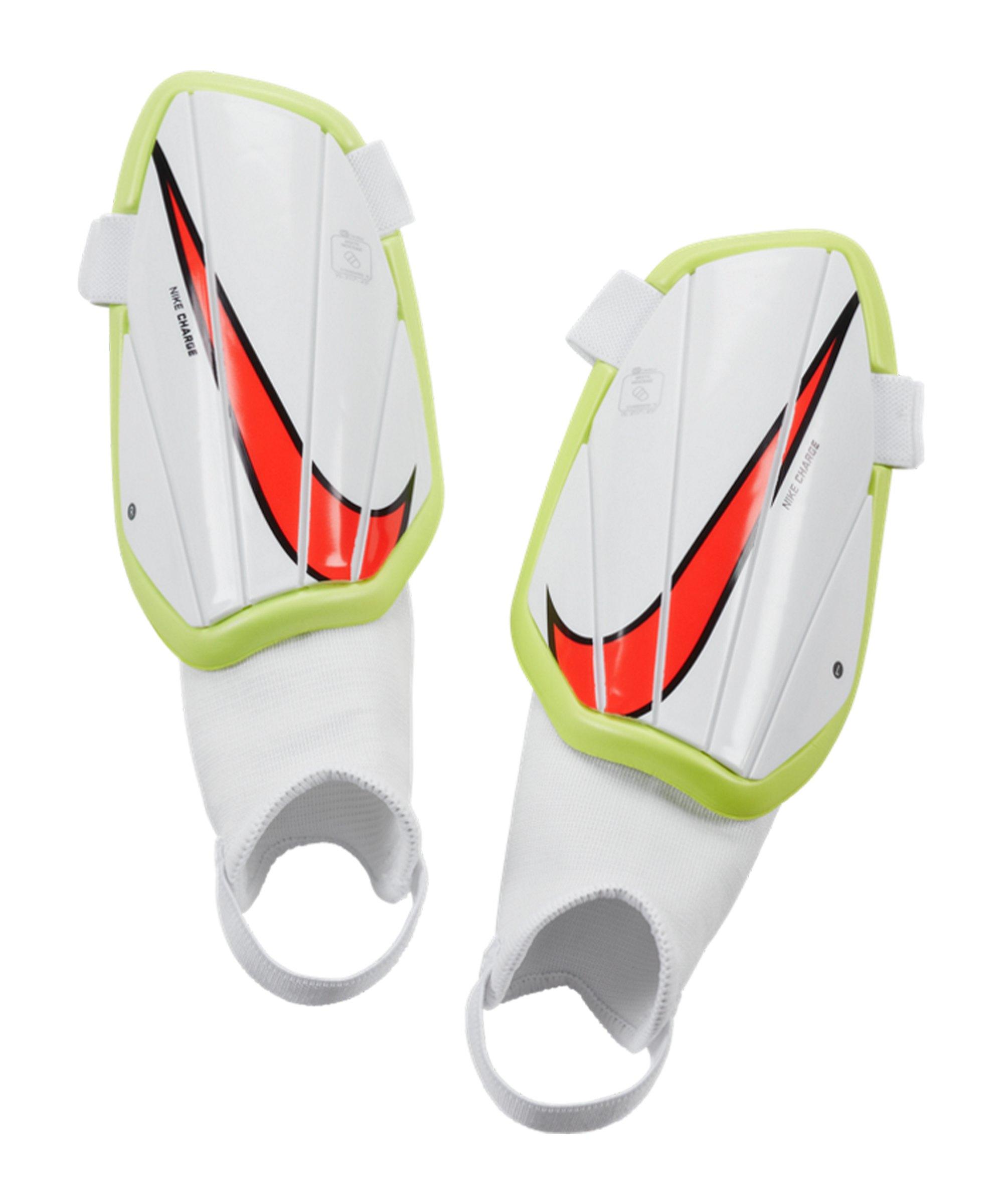 Nike Youth Charge Schienbeinschoner Kids F102 - weiss