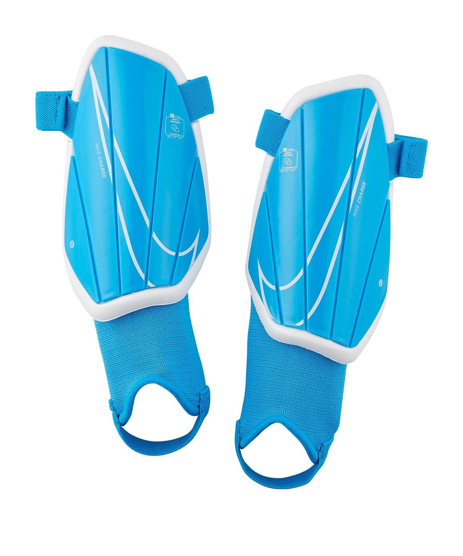 Nike Youth Charge Schienbeinschoner Kids F430 - blau