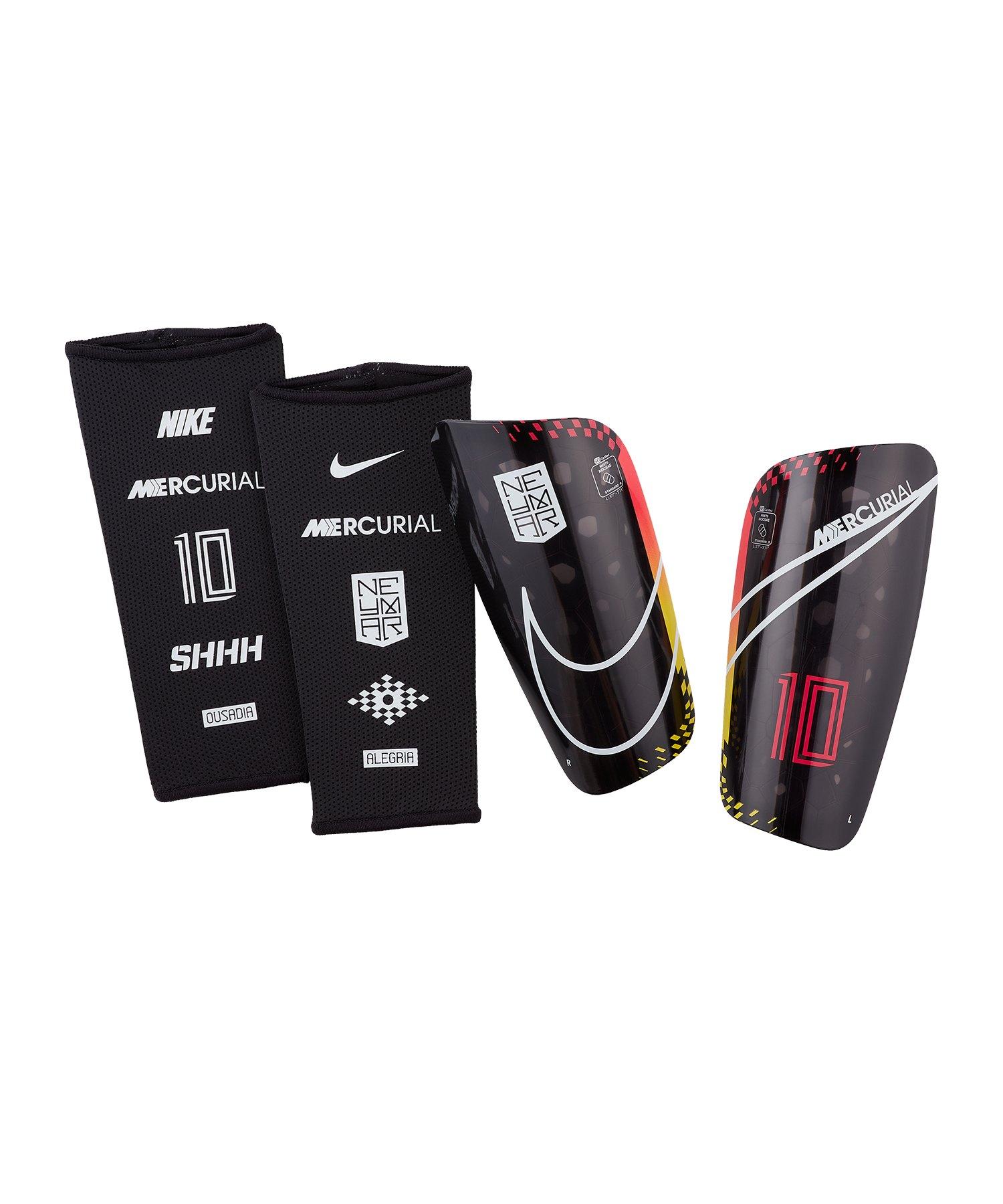 Nike Neymar Mercurial Lite Schienbeinschoner F610 - rot