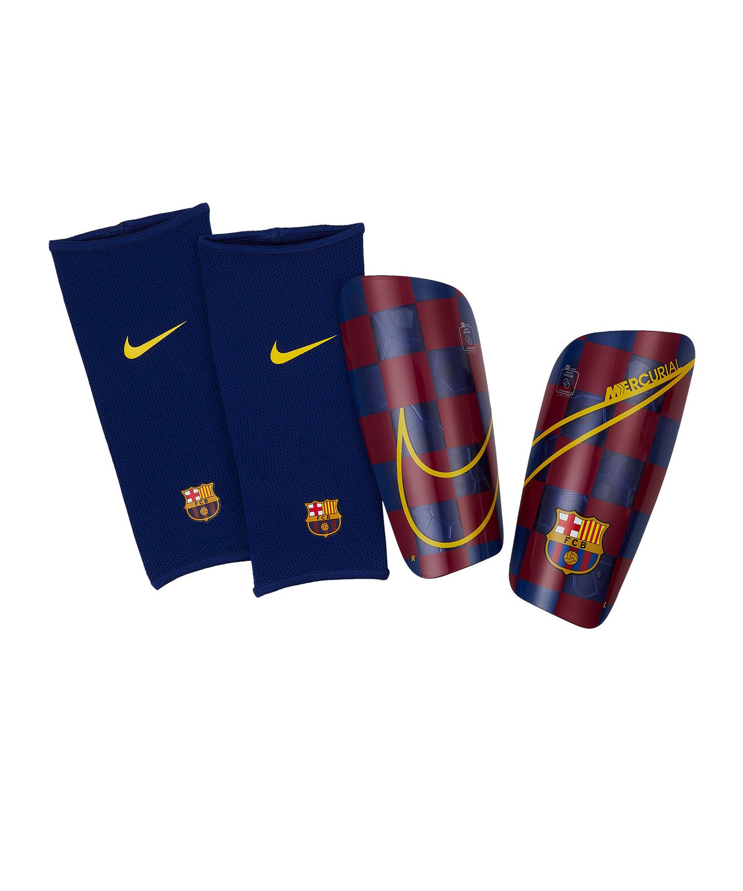 Nike FC Barcelona Mercurial Lite Schoner F455 - blau