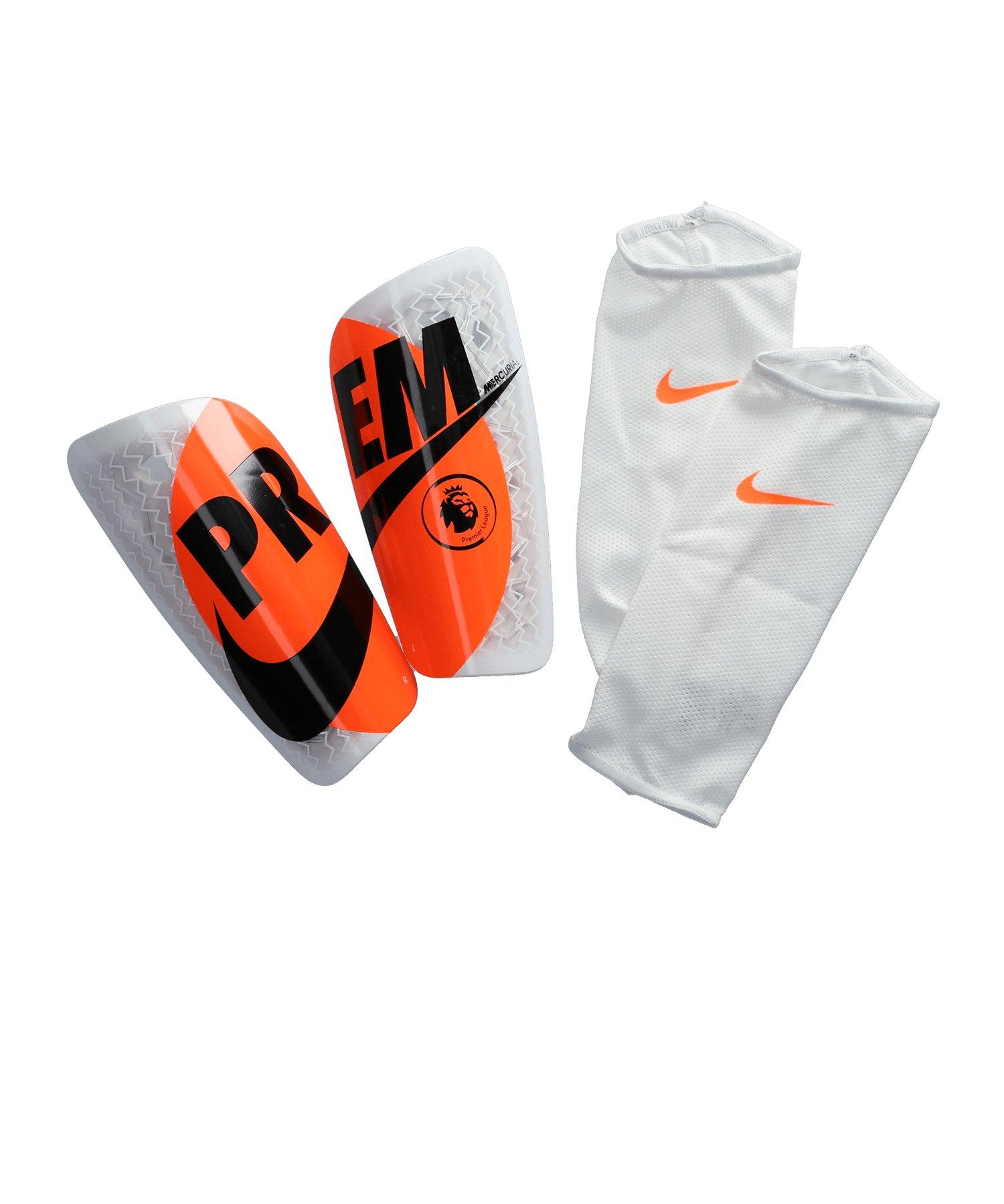 Nike Mercurial Schienbeinschoner Weiss F100 - weiss