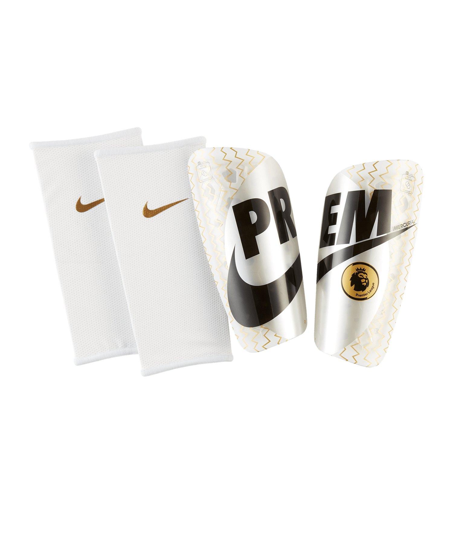 Nike Mercurial Schienbeinschoner Weiss F101 - weiss