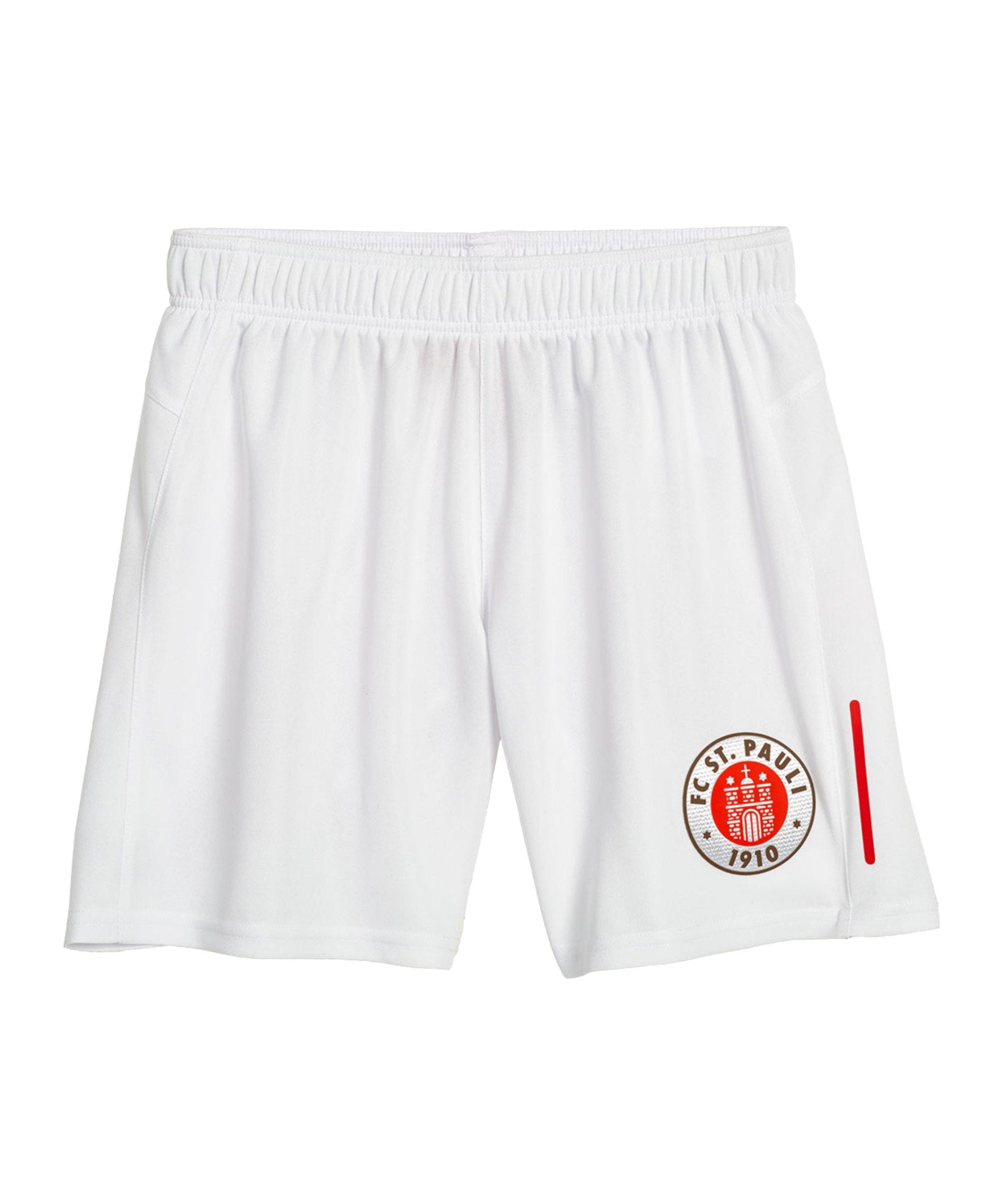 DIIY FC St. Pauli Short Away 2021/2022 Weiss - weiss