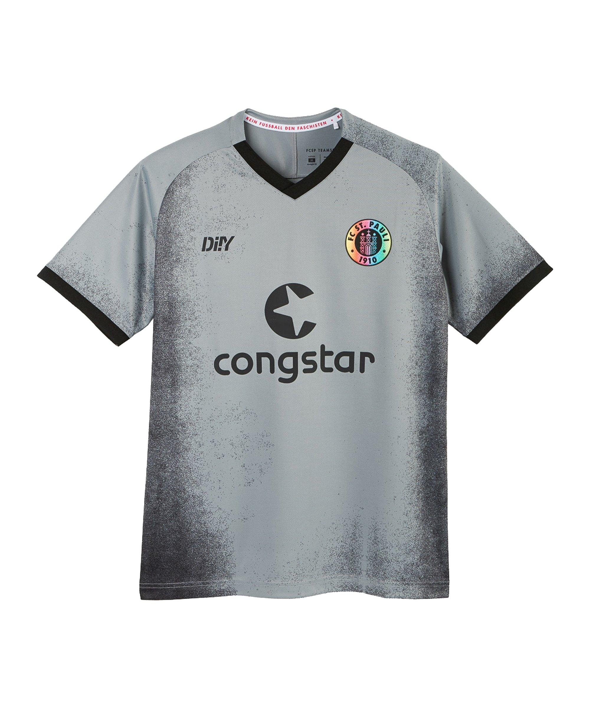 DIIY FC St. Pauli Trikot 3rd 2021/2022 Grau - grau