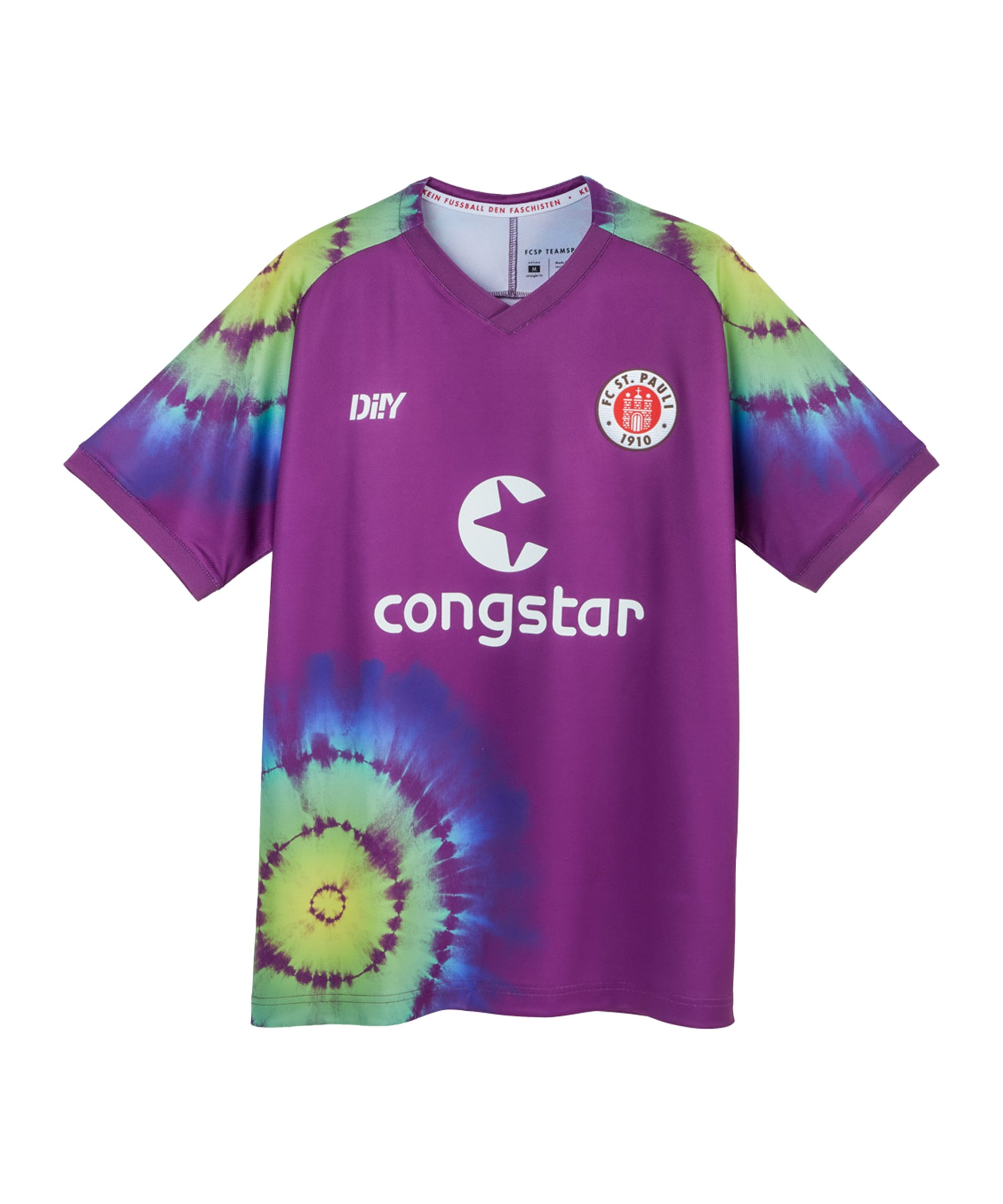 DIIY FC St. Pauli Torwartrikot 2021/2022 Lila - lila
