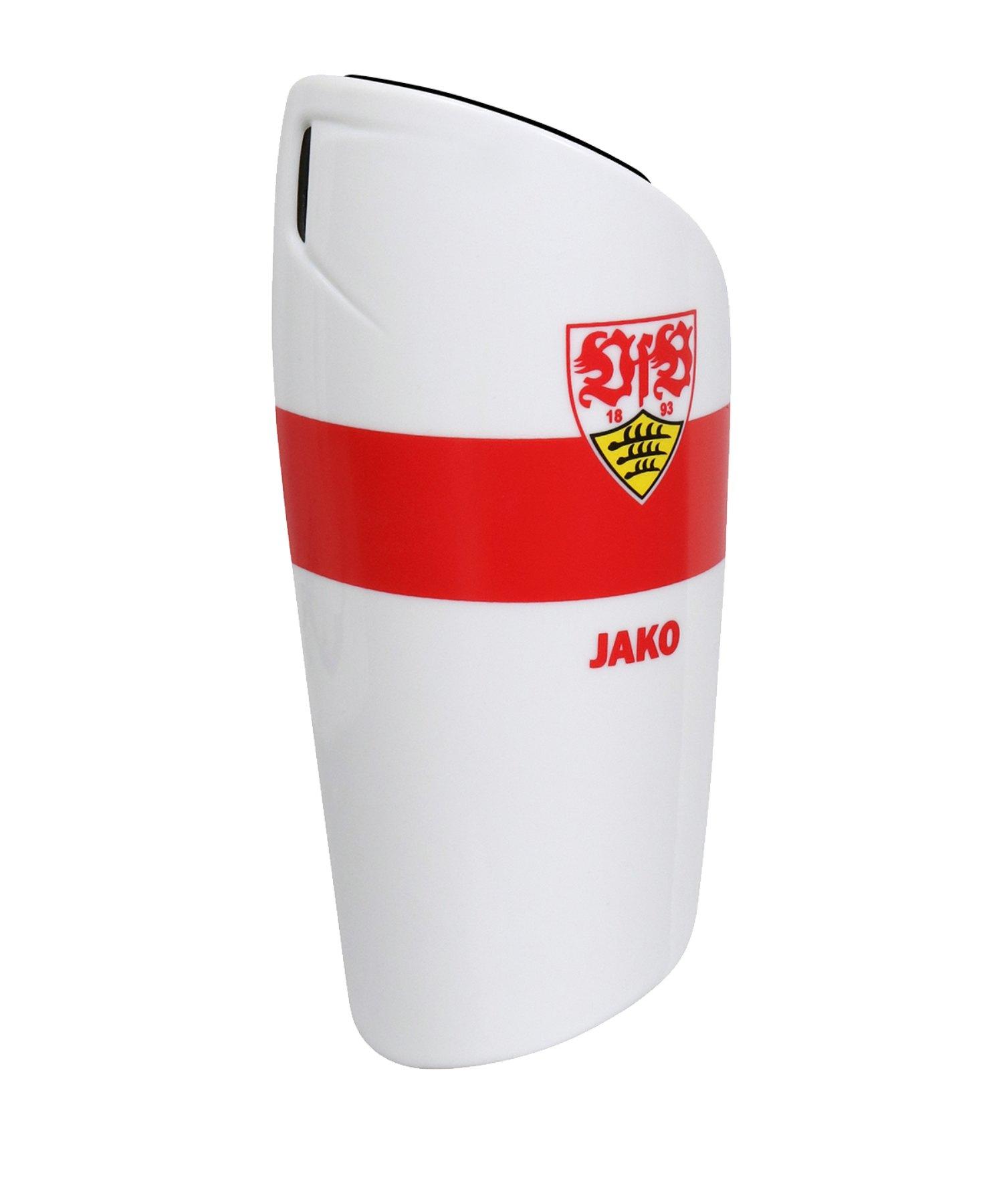 Jako VfB Stuttgart Schienbeinschoner Weiss F00 - weiß