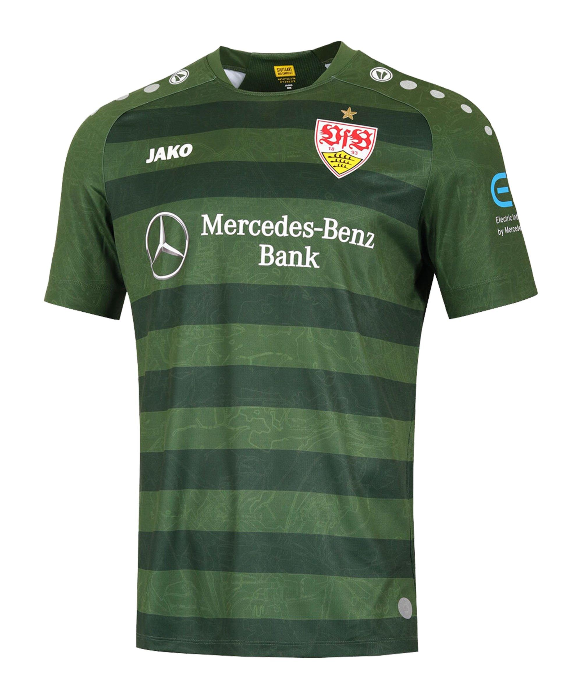 JAKO VfB Stuttgart Trikot 3rd 2020/2021 Khaki F28 - khaki