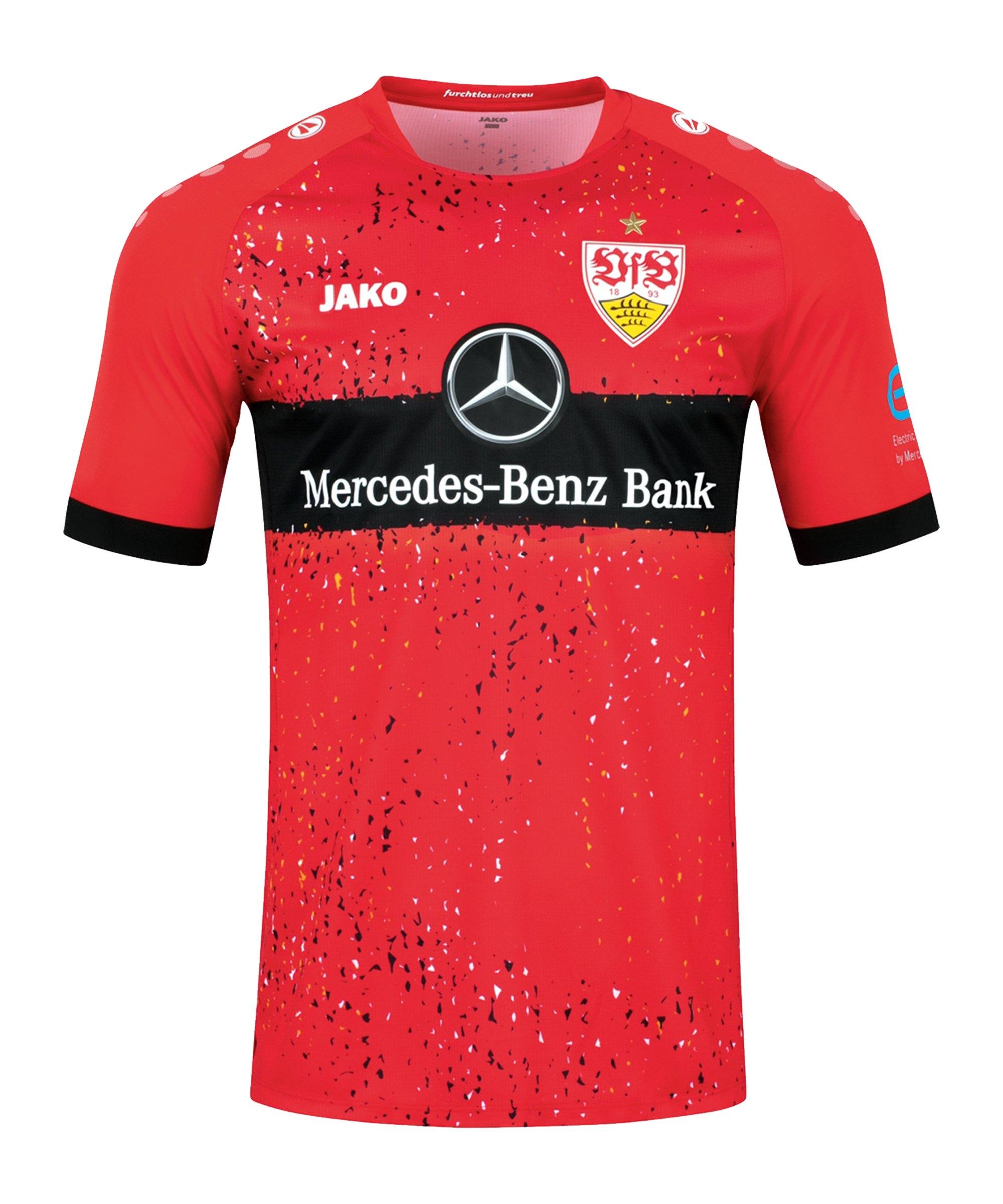 JAKO VfB Stuttgart Trikot Away 2021/2022 Rot F110 - rot