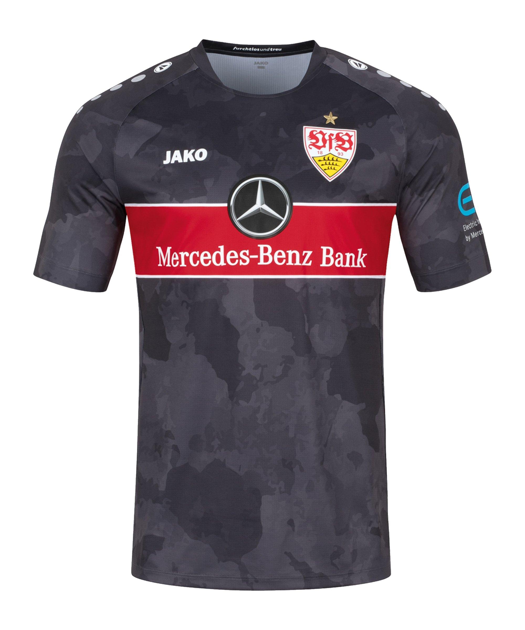 JAKO VfB Stuttgart Trikot 3rd 2021/2022 Kids Grau F683 - grau