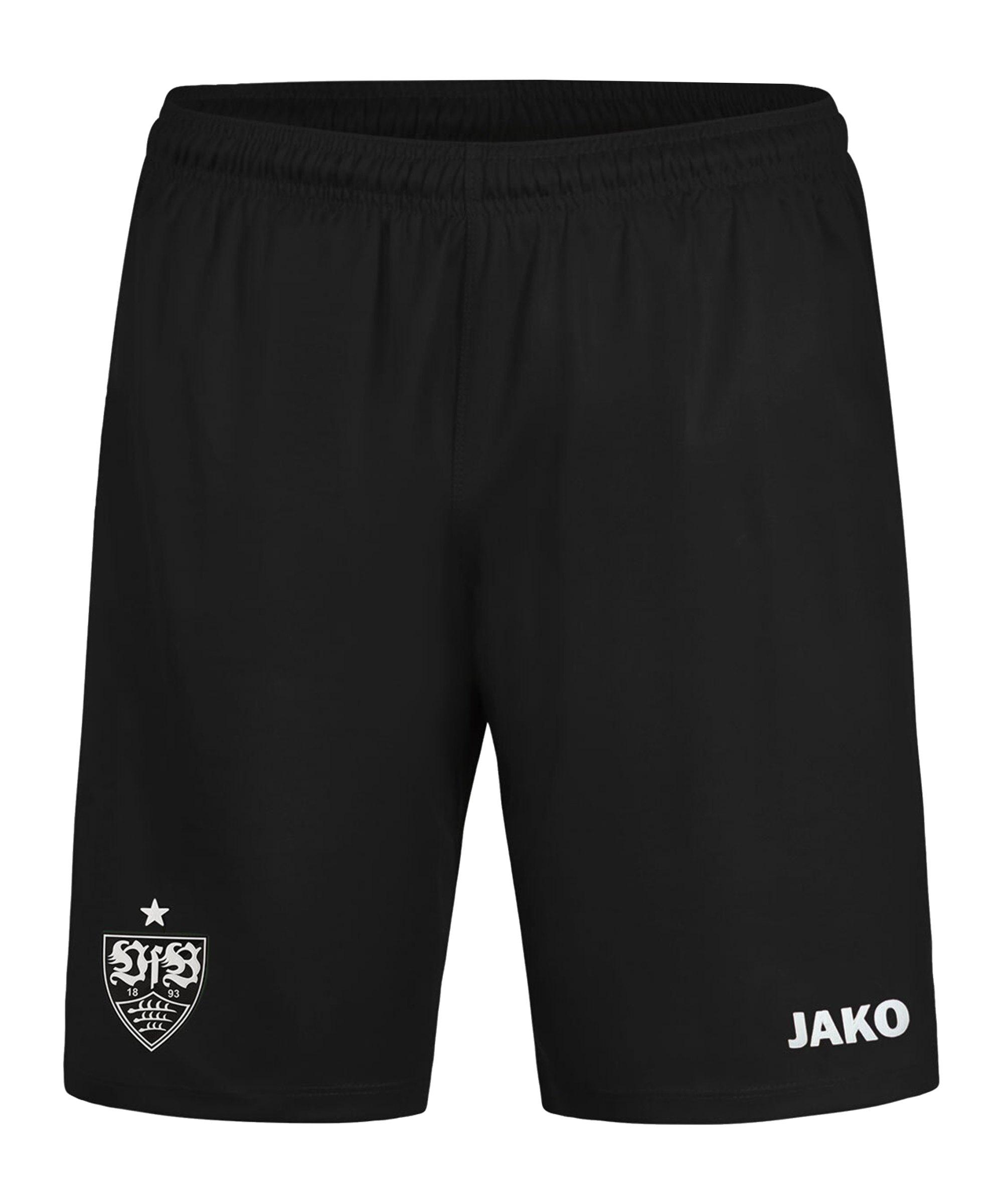 JAKO VfB Stuttgart Short Away 2020/2021 Schwarz F08 - schwarz