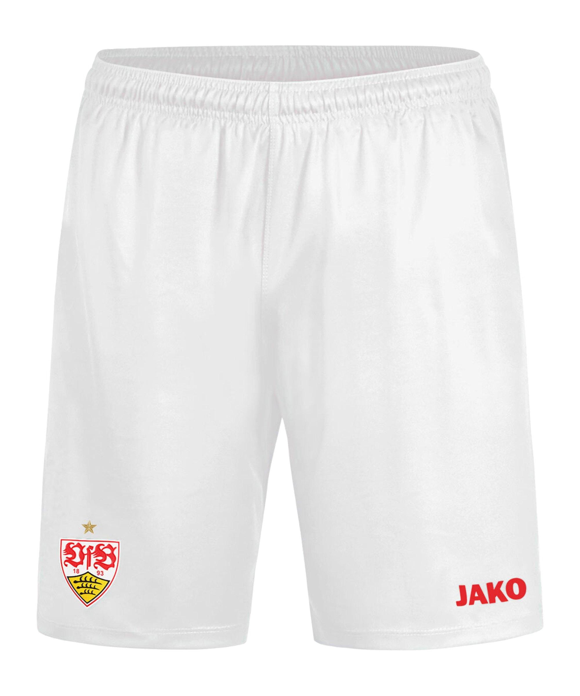 JAKO VfB Stuttgart Short Home 2020/2021 Kids Weiss F00 - weiss