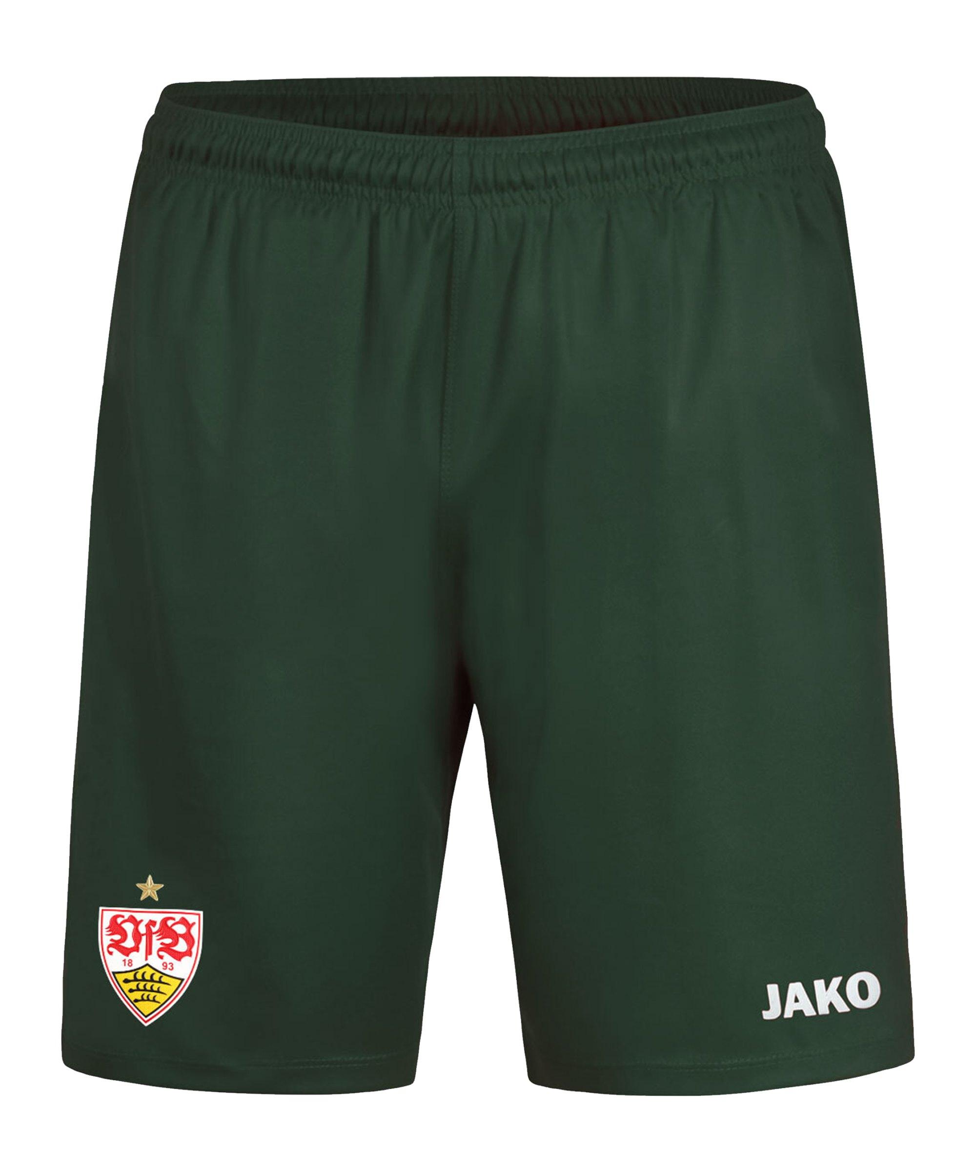 JAKO VfB Stuttgart Short 3rd 2020/2021 Kids Grün F28 - gruen
