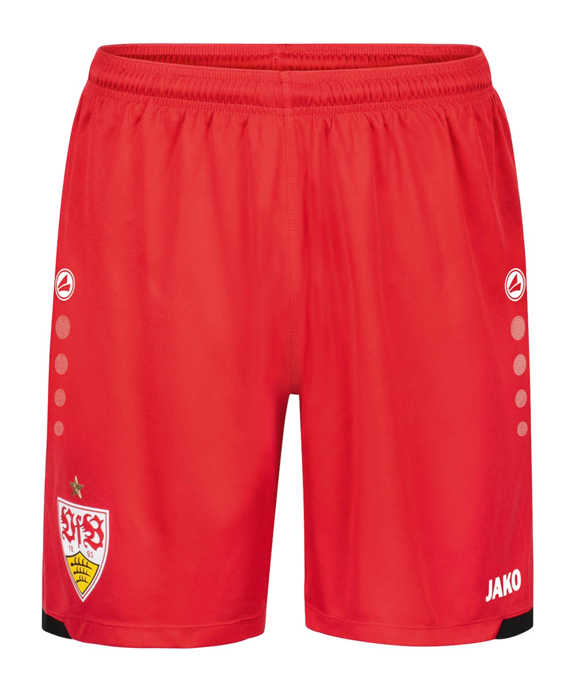 JAKO VfB Stuttgart Short Away 2021/2022 Kids Rot F110 - rot