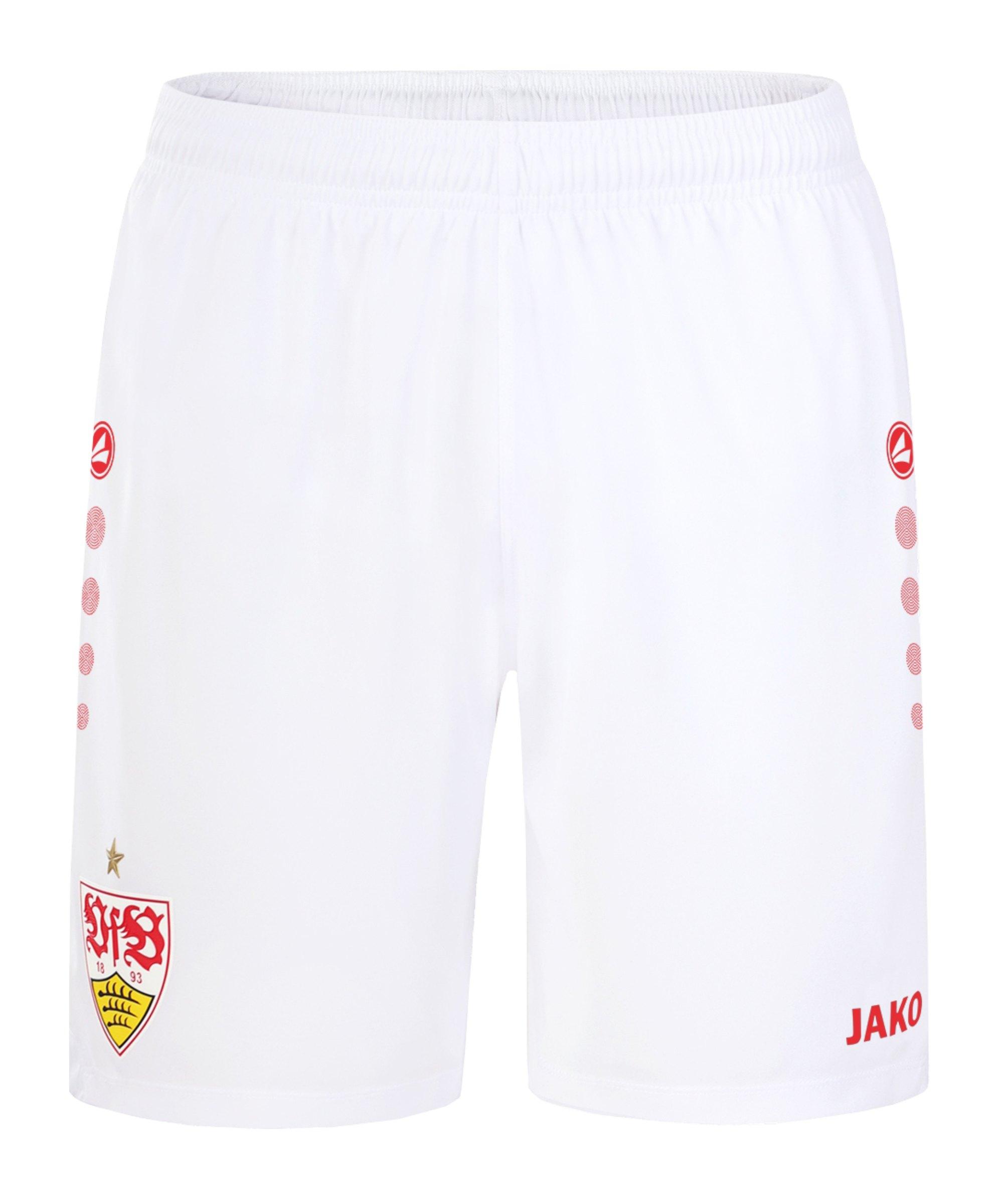 JAKO VfB Stuttgart Short Home 2021/2022 Schwarz F800 - schwarz