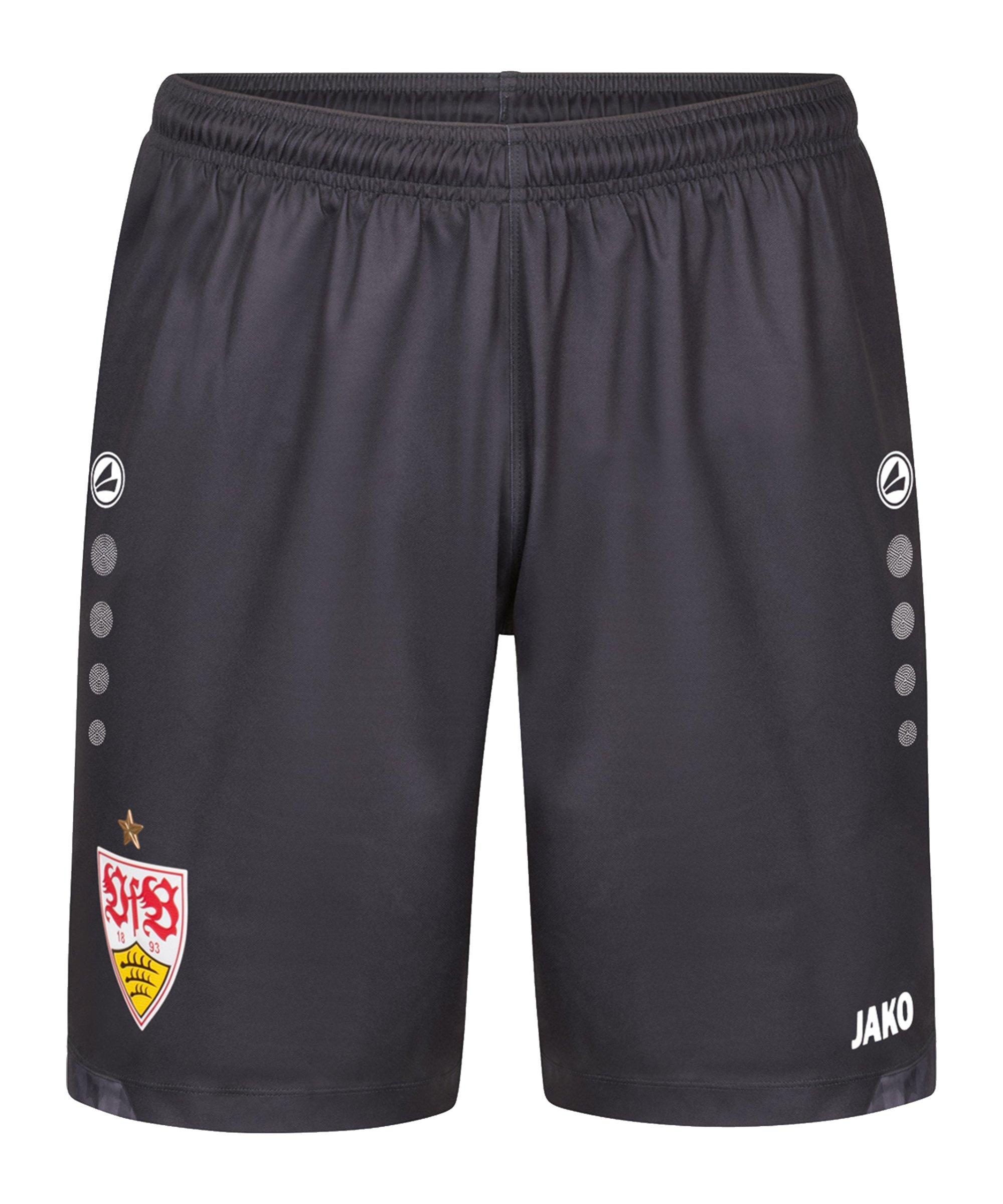 JAKO VfB Stuttgart Short 3rd 2021/2022 Kids Grau F830 - grau
