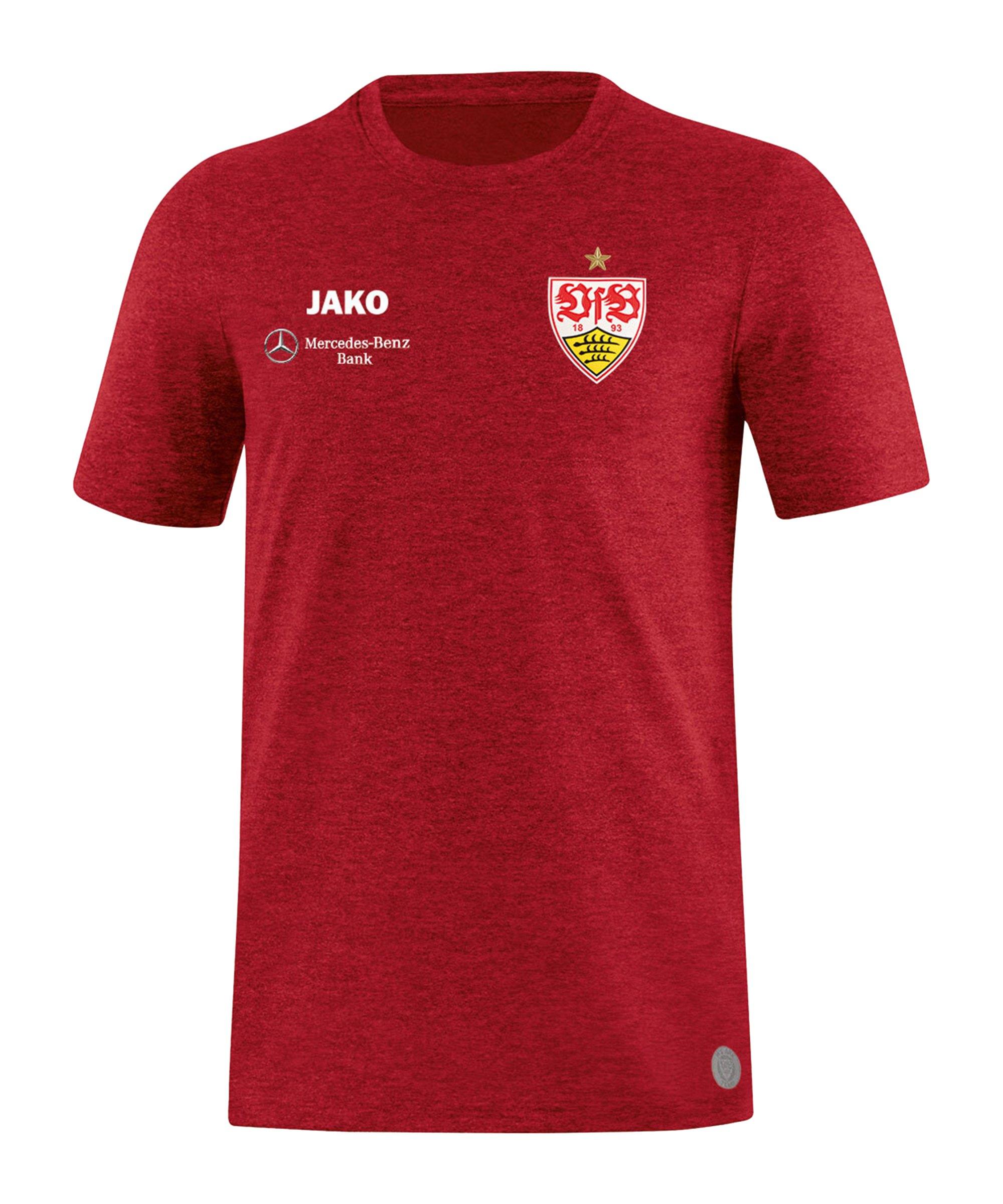 JAKO VfB Stuttgart Premium T-Shirt Kids Rot F01 - rot