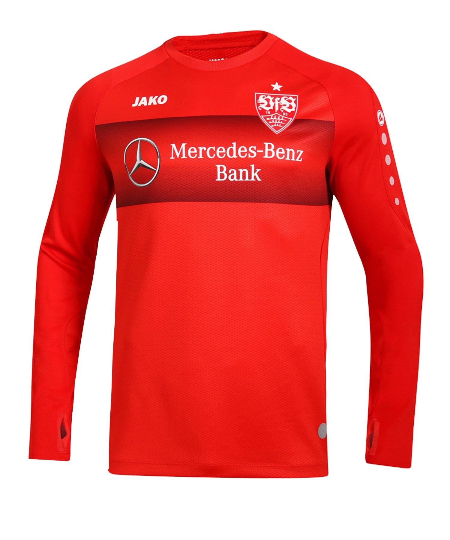 Jako VfB Stuttgart Teamline Sweatshirt Kids F01 - rot