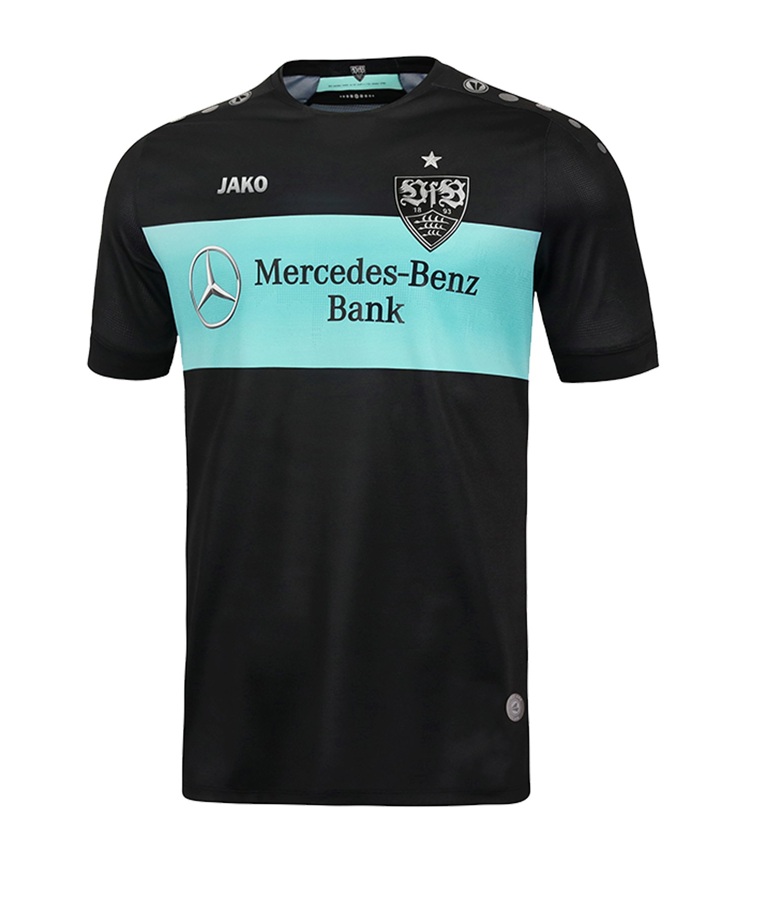 Jako VfB Stuttgart TW-Trikot Home 2019/2020 Kids Schwarz Mint F08 - schwarz