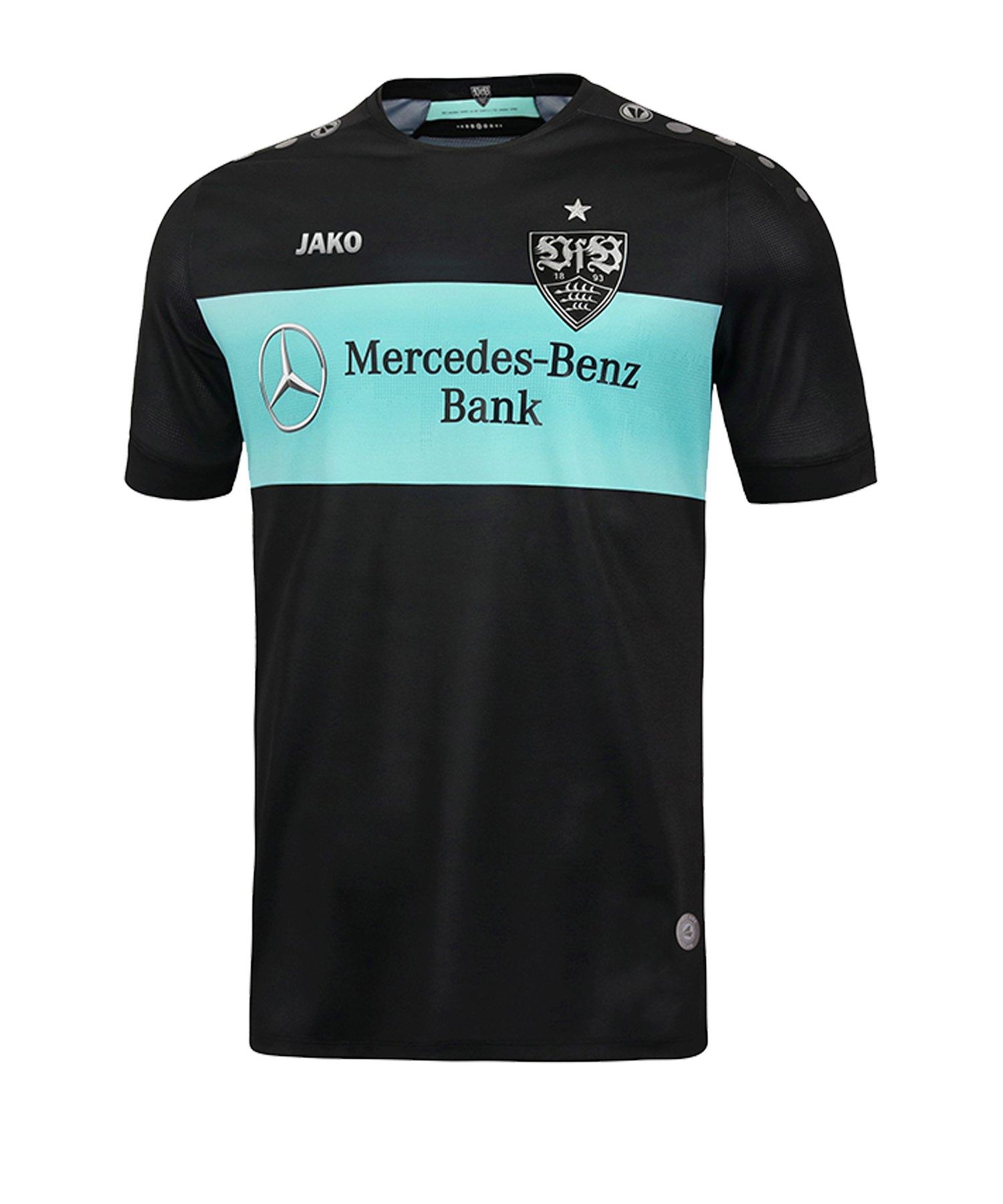 Jako VfB Stuttgart TW-Trikot Away 2019/2020 Mint Schwarz F24 - gruen