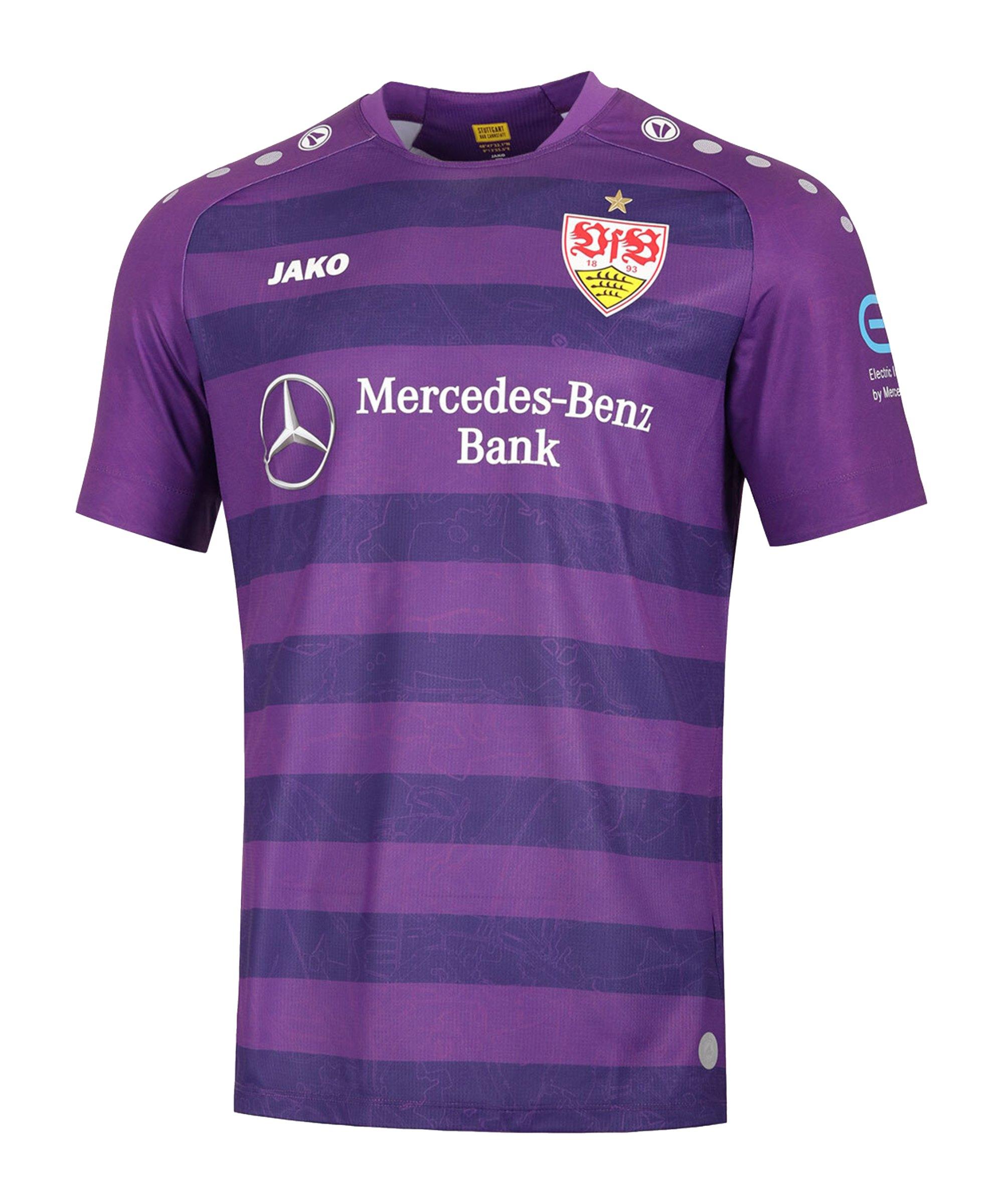 JAKO VfB Stuttgart Torwarttrikot Away 2020/2021 Kids Lila F10 - lila