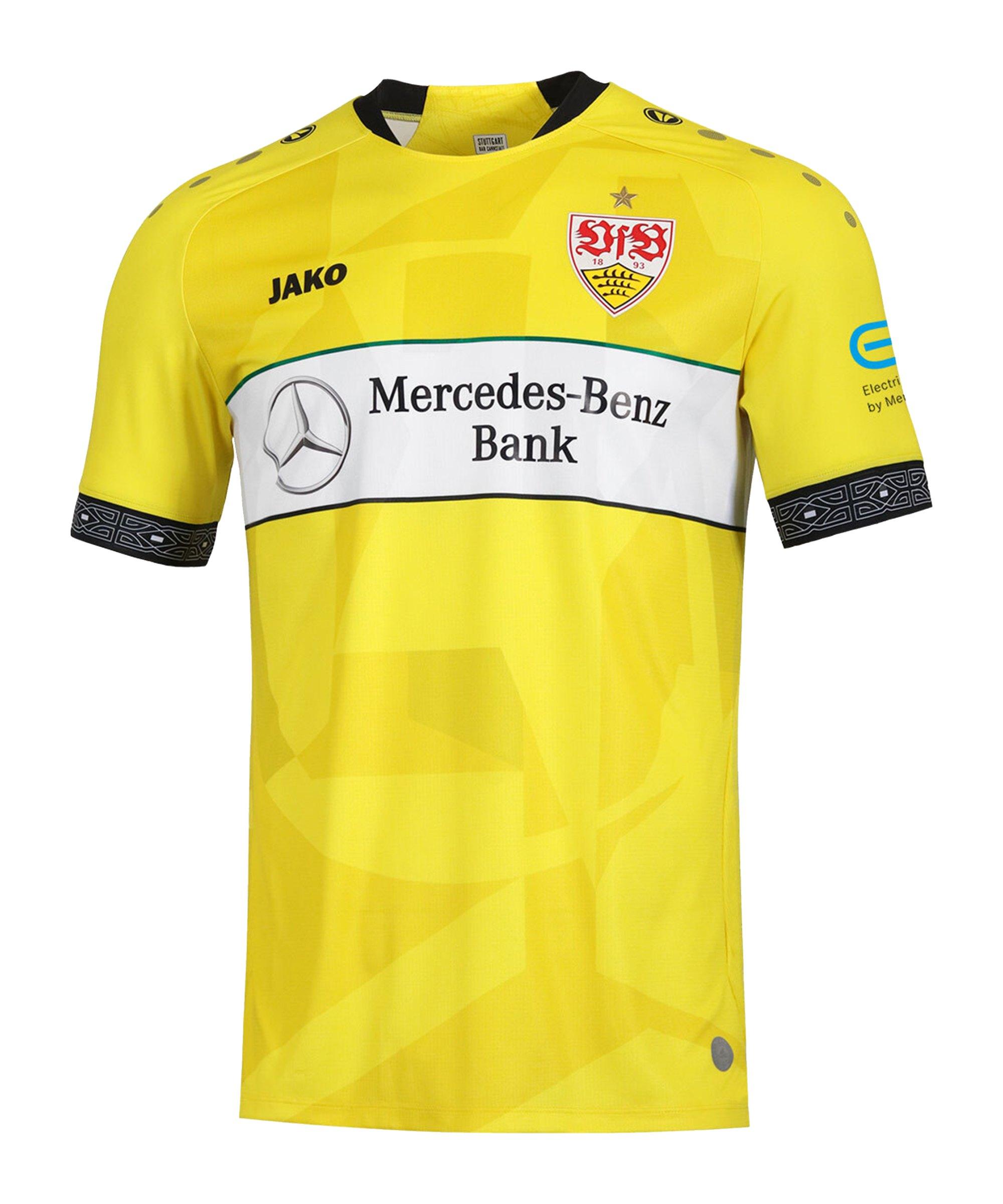 JAKO VfB Stuttgart Torwarttrikot Home 2020/2021 Kids Gelb F03 - gelb