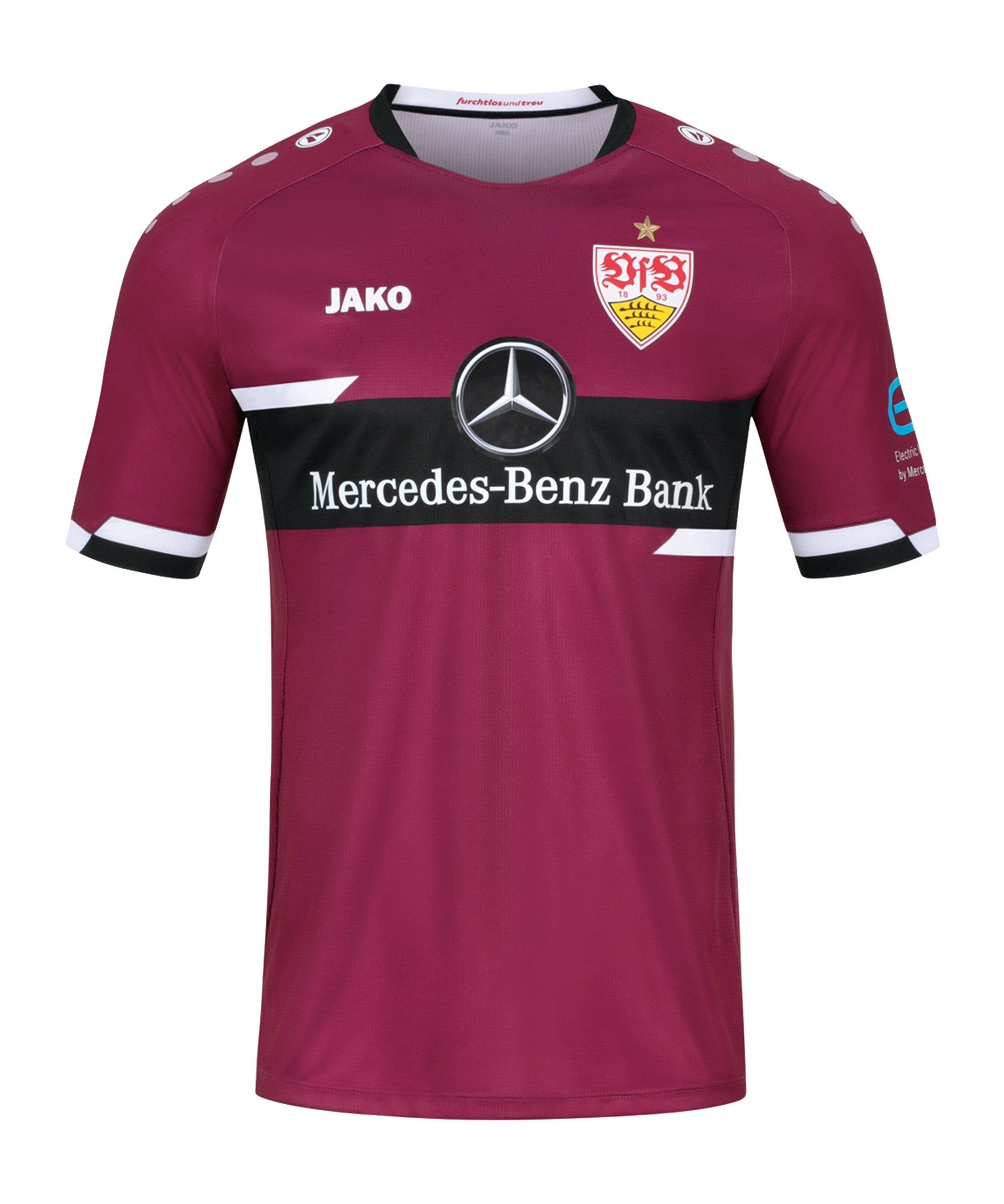 JAKO VfB Stuttgart TW-Trikot Away 2021/2022 Kids Lila F612 - rot