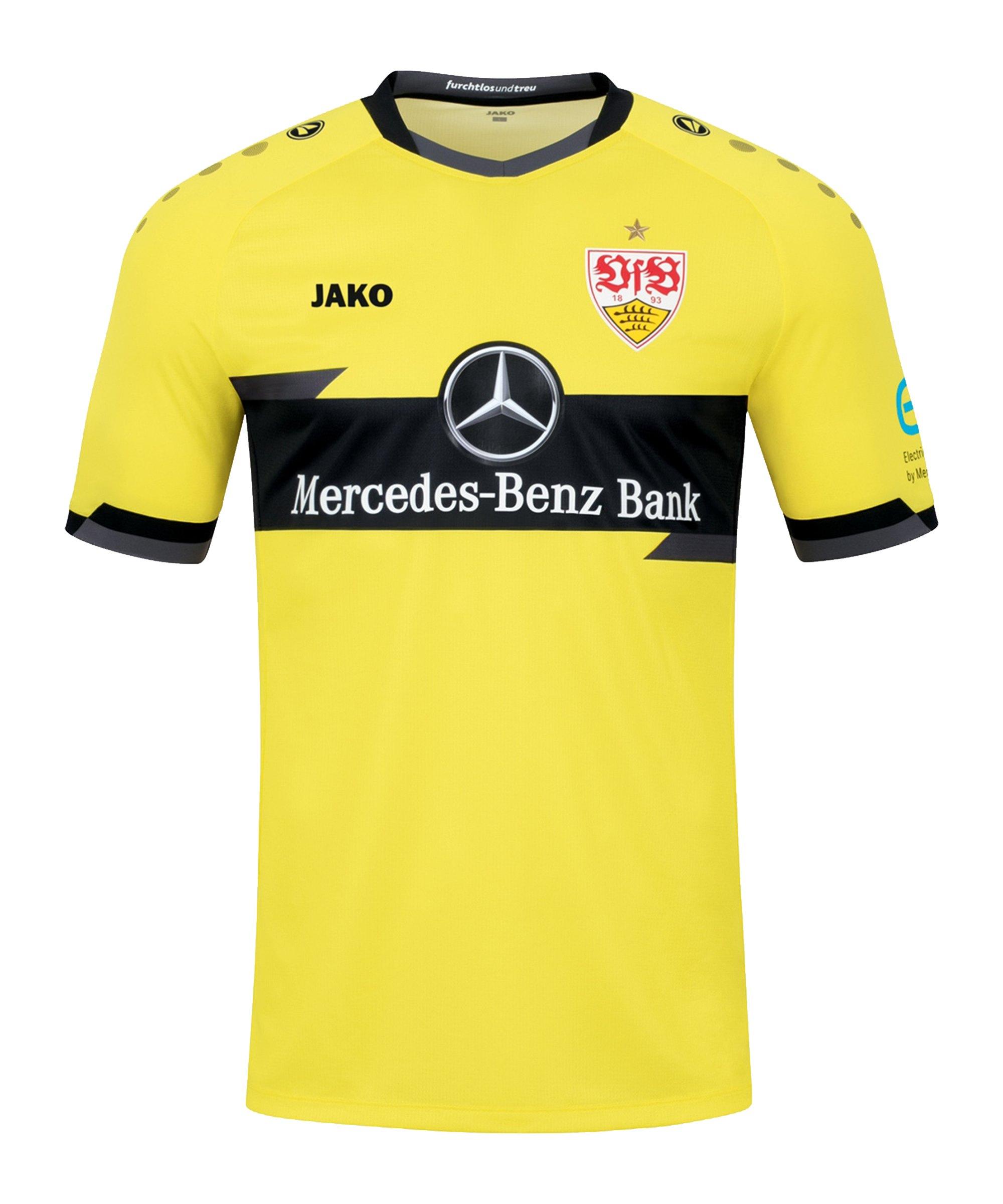 JAKO VfB Stuttgart TW-Trikot Home 2021/2022 Gelb F630 - gelb