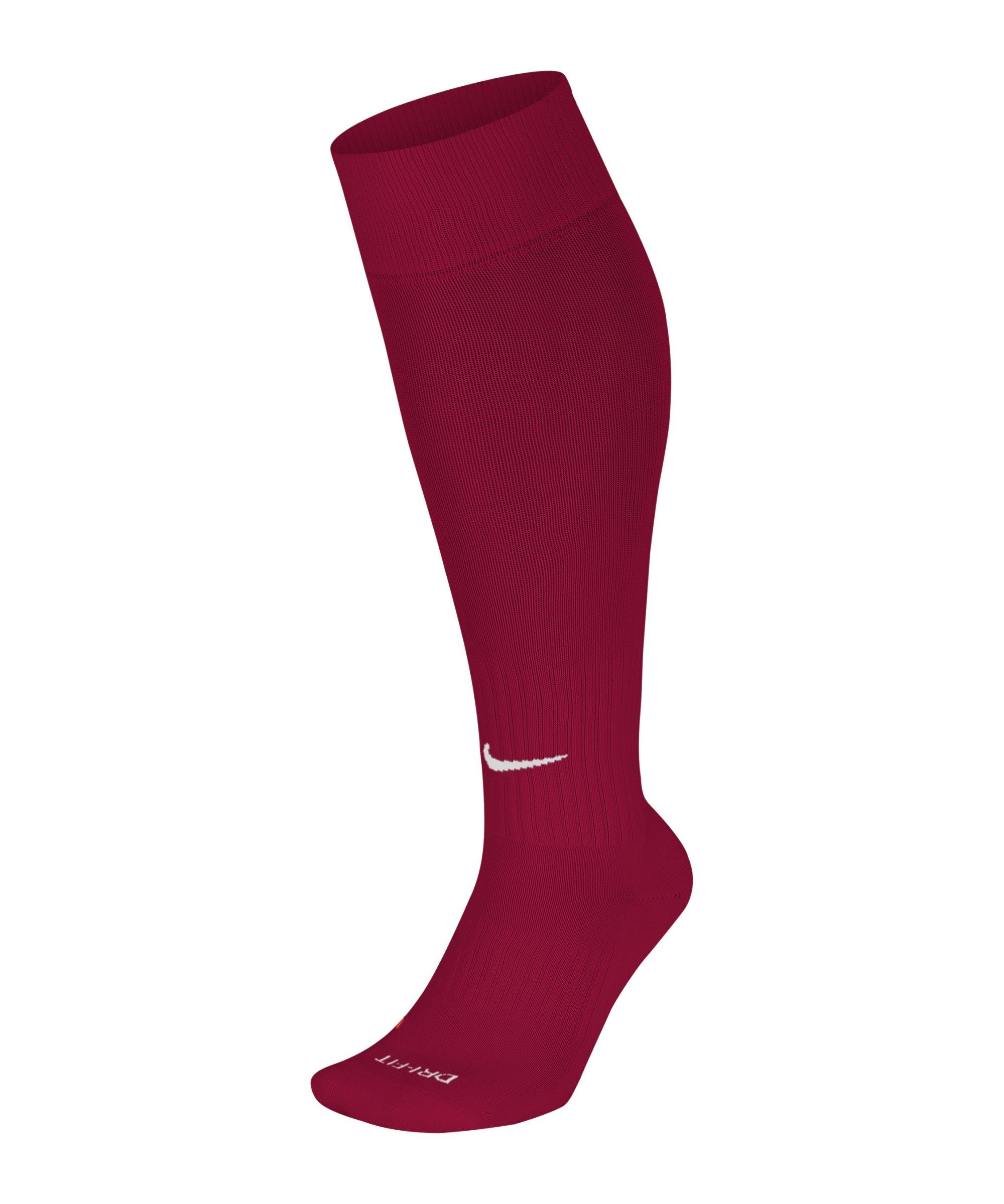 Nike Academy OVC Stutzenstrumpf Rot F671 - rot