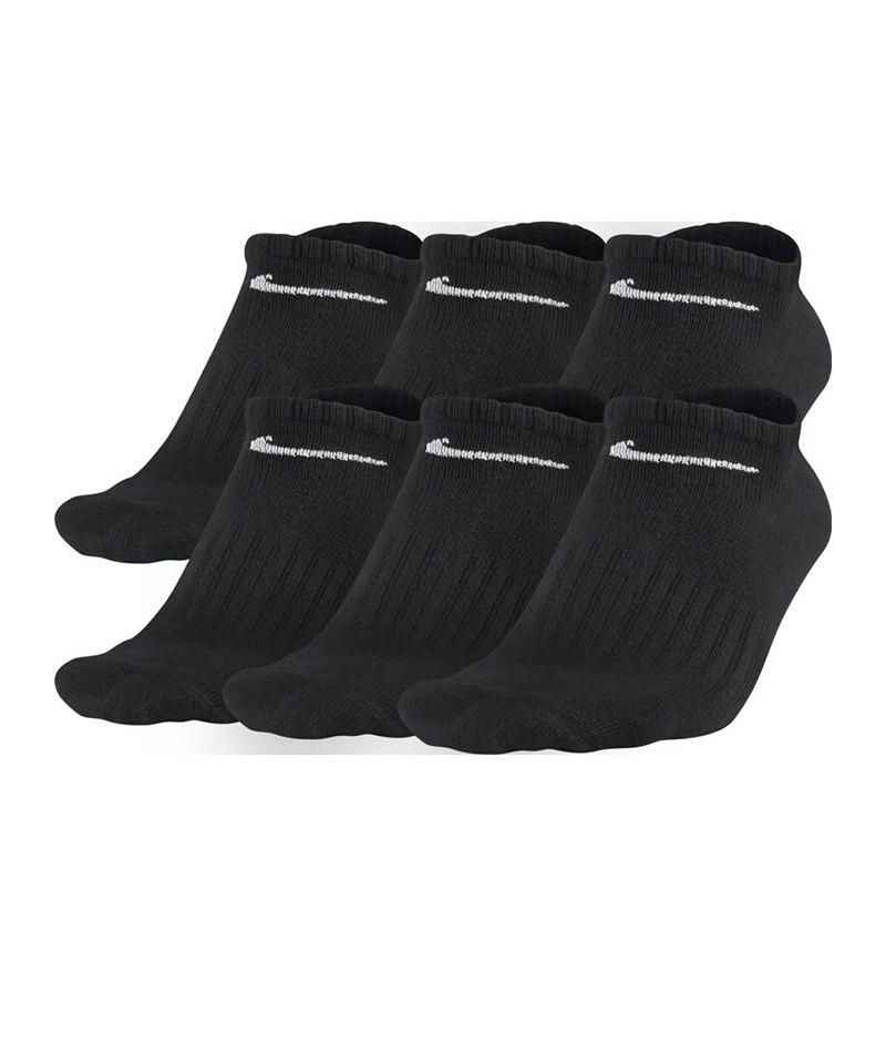 Nike Füsslinge Perf Lightweight 6er-Pack F001 - schwarz