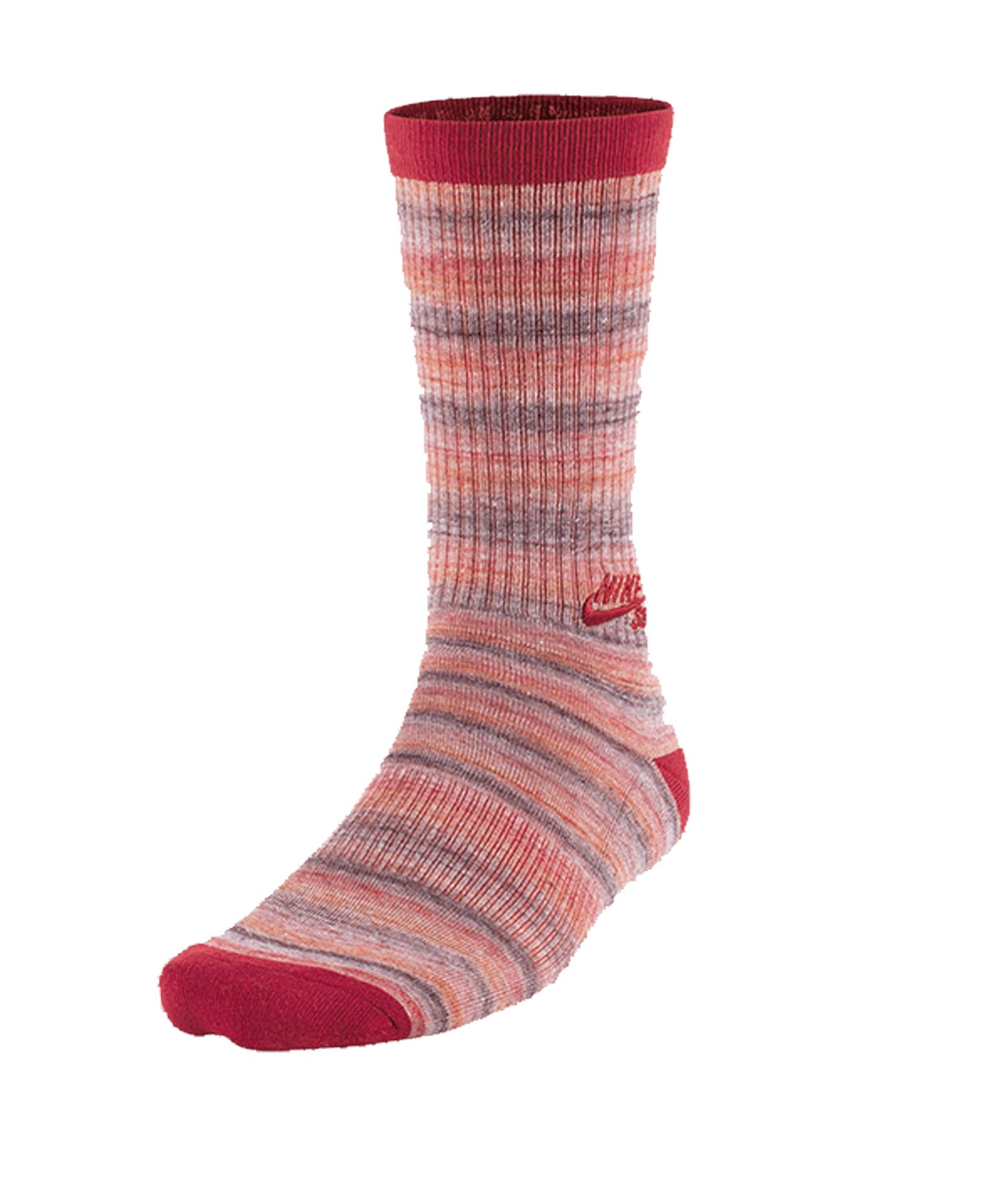 Nike Dri-FIT Space Crew Socken F668 - rot