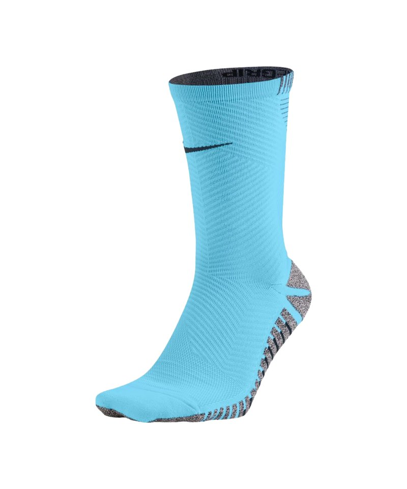 Nike Grip Strike Light Crew Football Socken F483 - blau