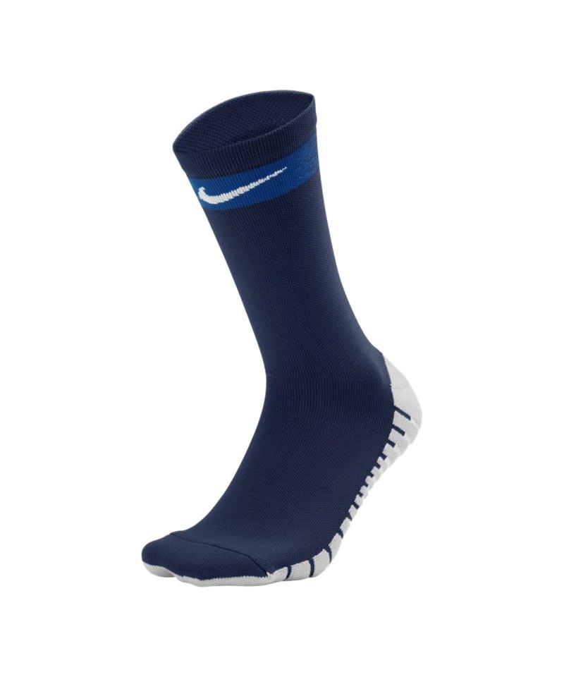 Nike Team Matchfit Crew Socken Blau F451 - blau