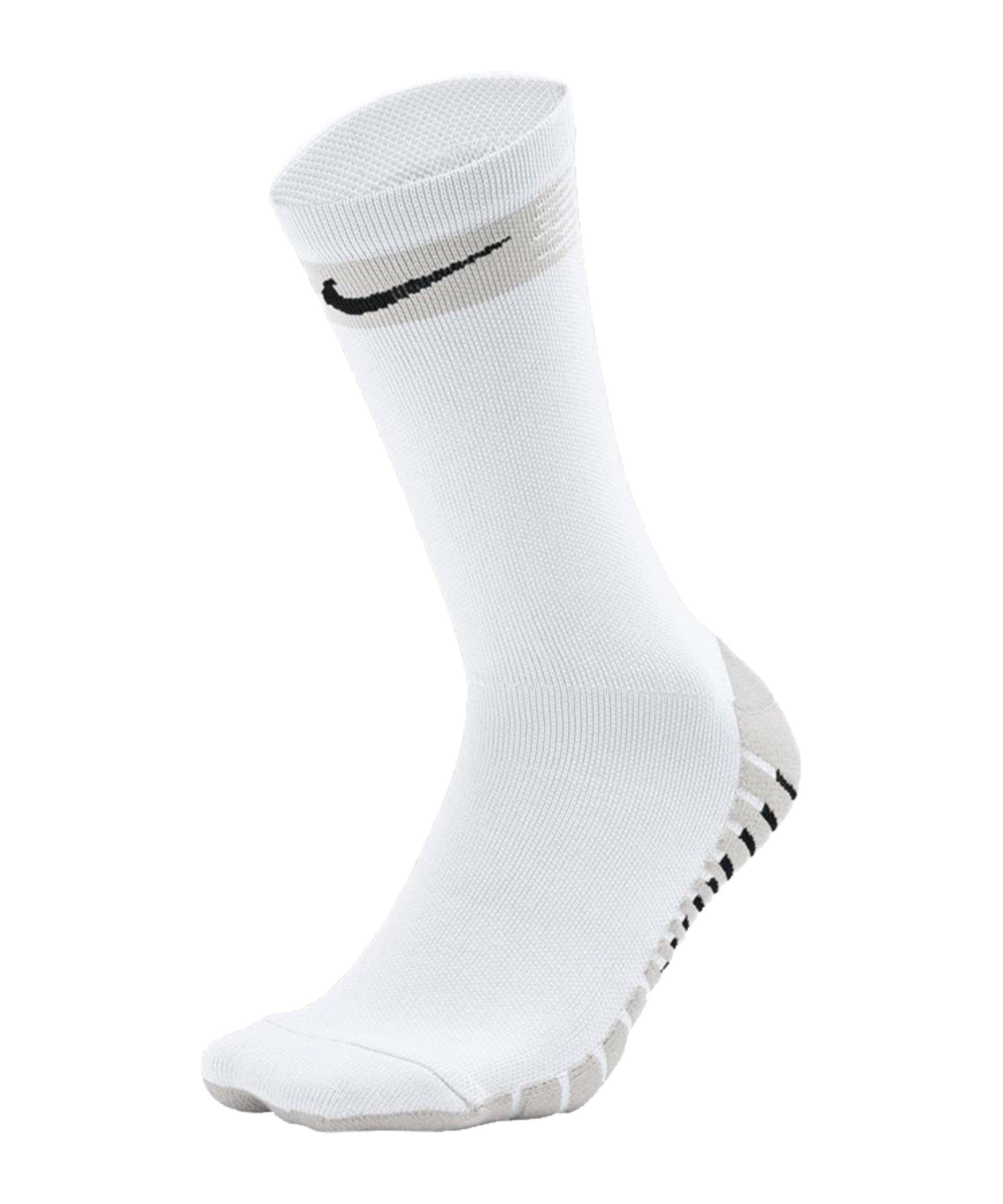 Nike Team Matchfit Crew Socken Weiss F100 - weiss