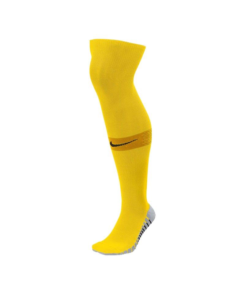 Nike Team Matchfit OTC Sockenstutzen Gelb F719 - gelb