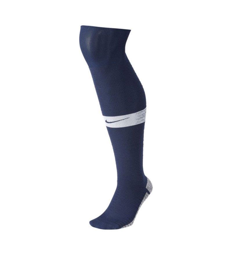 Nike Grip Strike Light Stutzen WC Blau Weiss F410 - blau