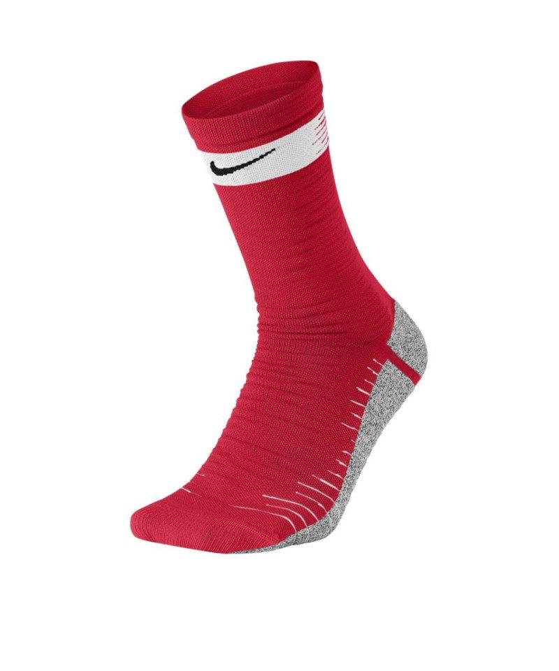 Nike Grip Strike Light Crew Socken WC18 F657 - rot