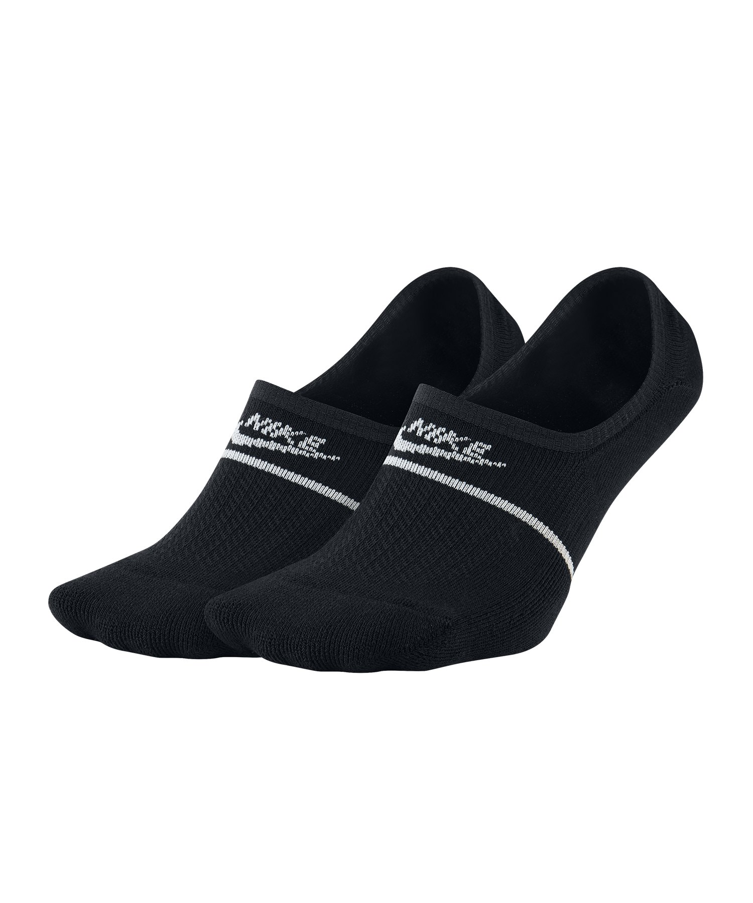 Nike Essential Sneaker Sox Socken 2er Pack F010 - Schwarz