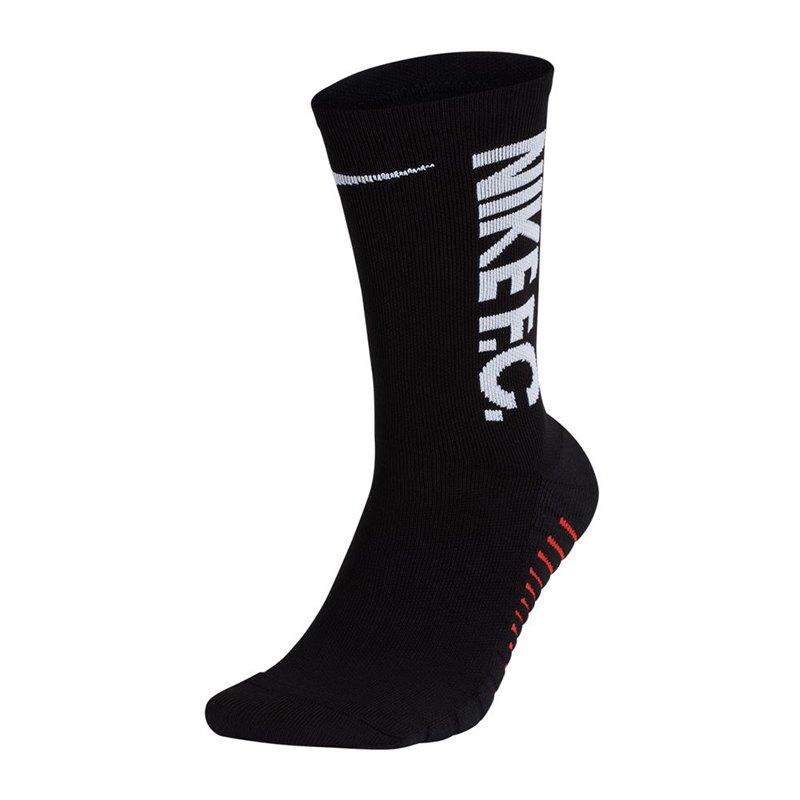 Nike F.C. GFX Crew Socks Socken Schwarz F010 - schwarz