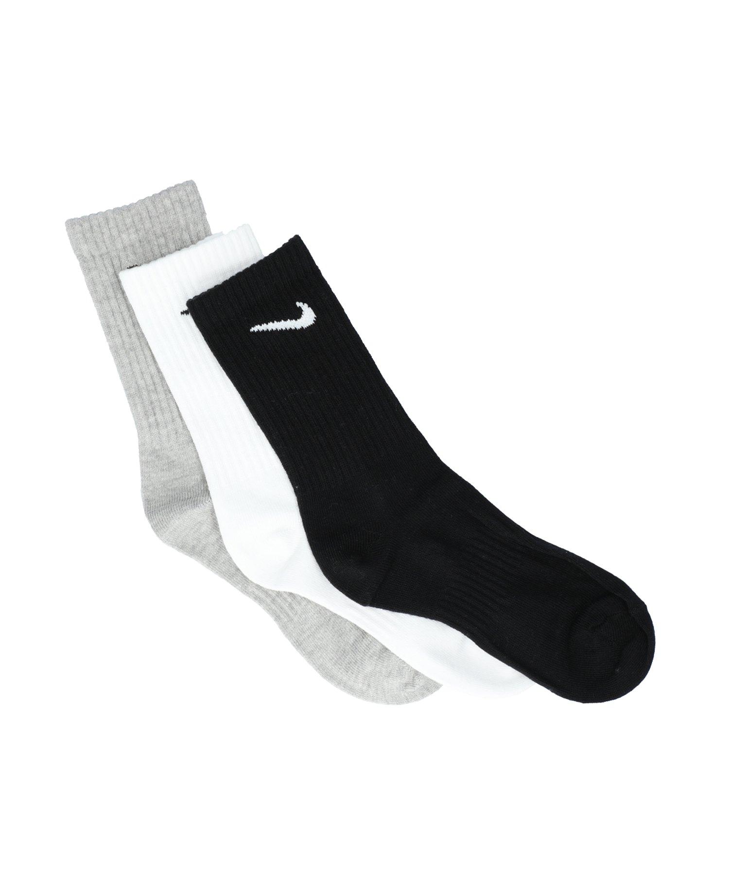 Nike Everyday Lightweight 3er Pack Socken F901 - grau