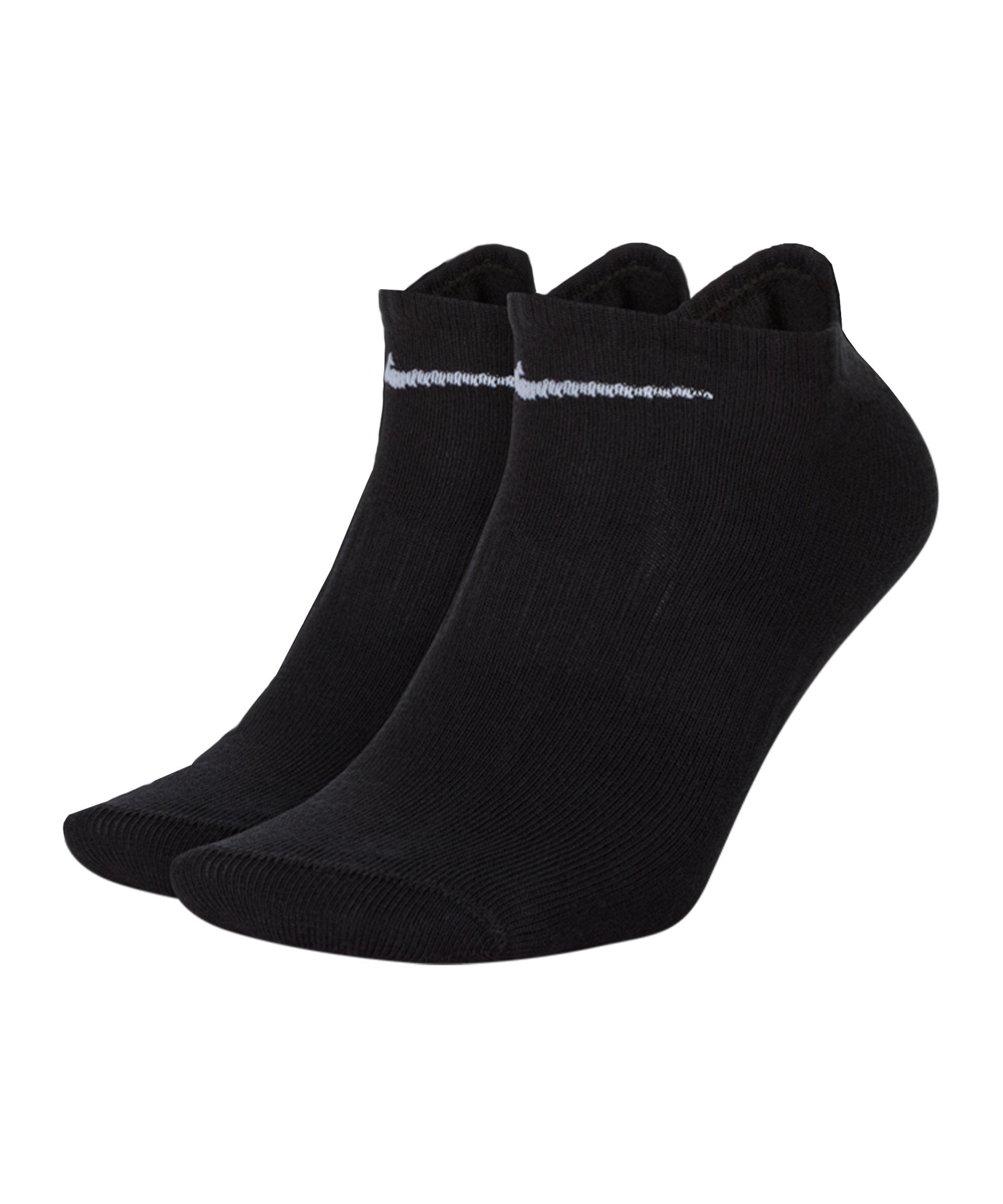 Nike Everyday Lightweight 6er Pack Füsslinge F010 - schwarz