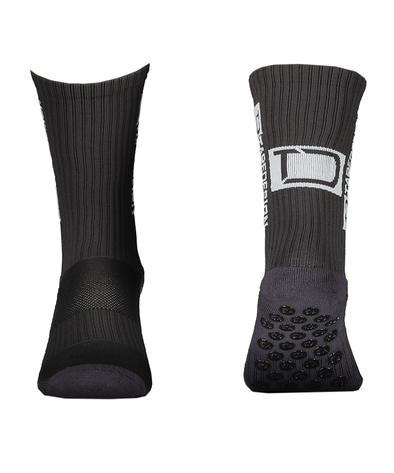 Tapedesign Socks Socken Dunkelgrau F016 - grau