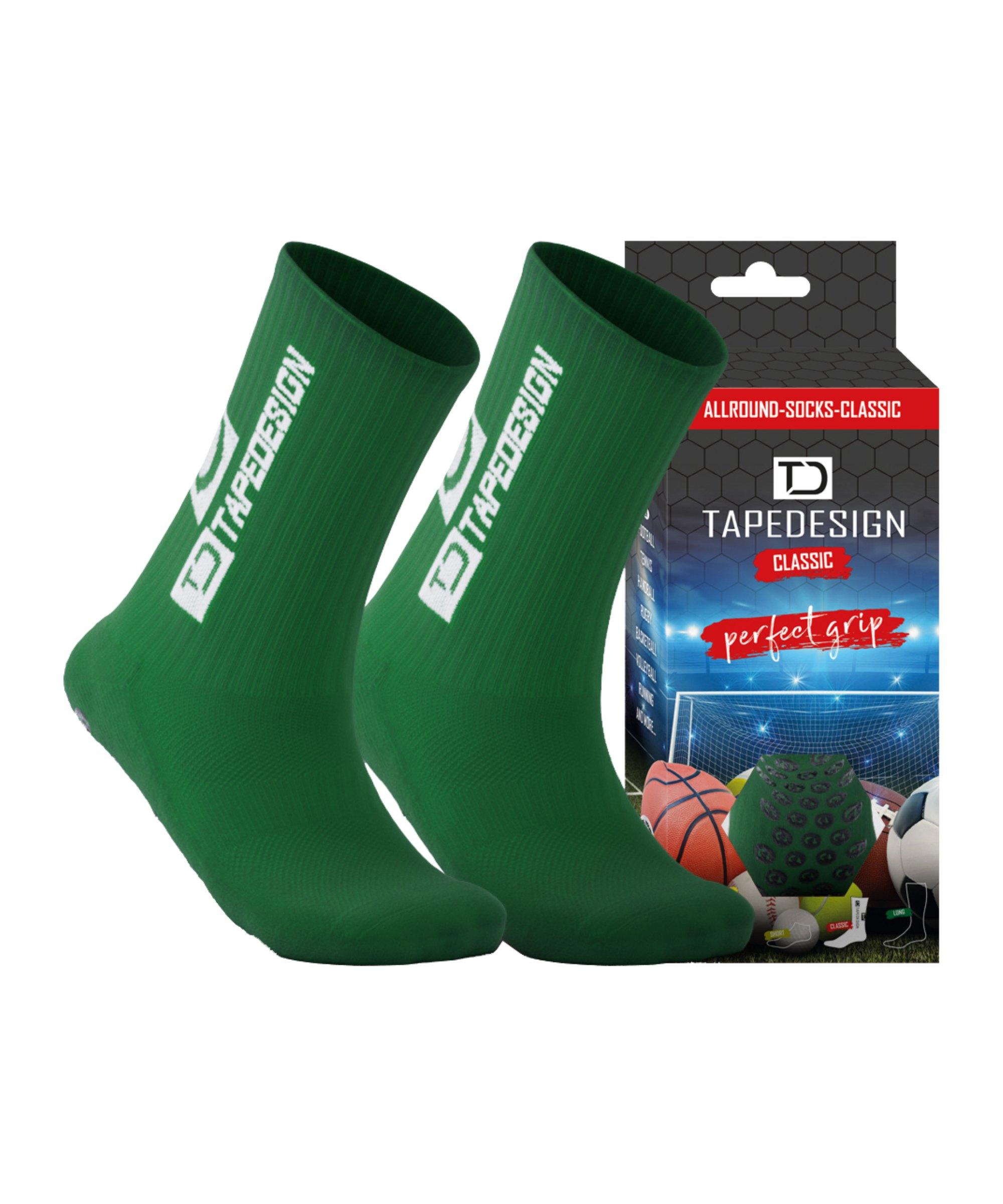Tapedesign Socks Socken Grün F007 - gruen