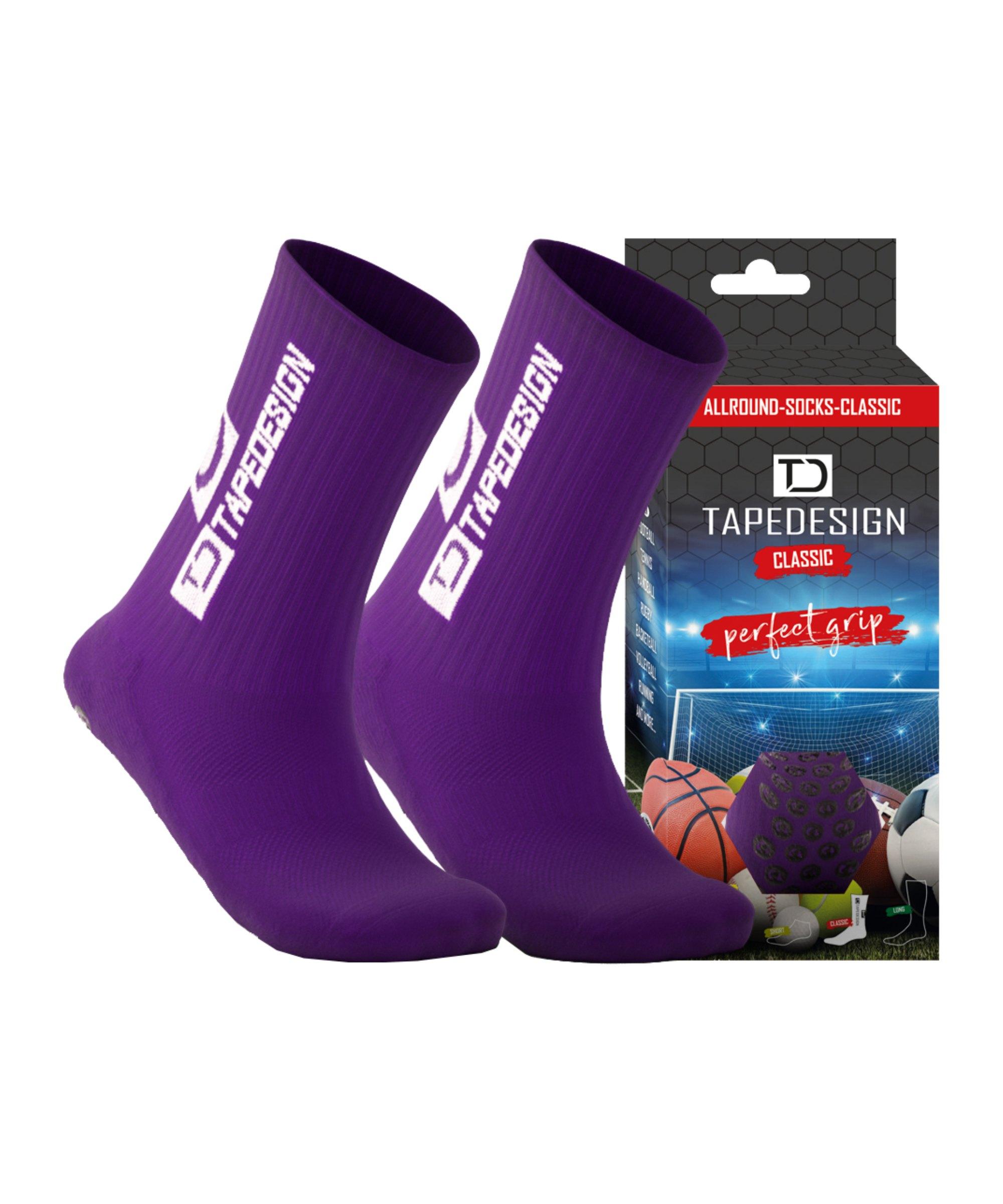 Tapedesign Socks Socken Lila F008 - lila