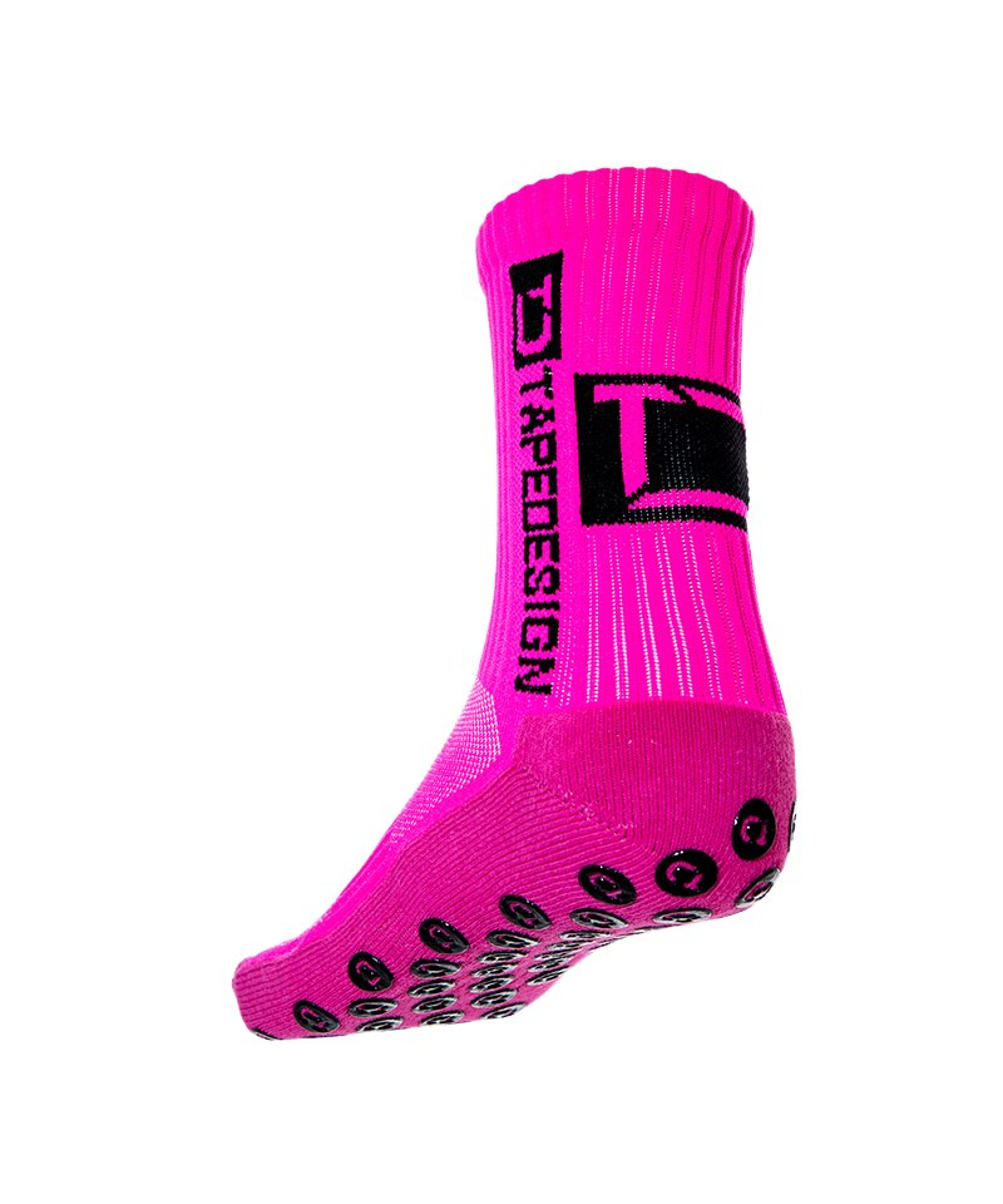 Tapedesign Socks Socken Neonpink F011 - pink