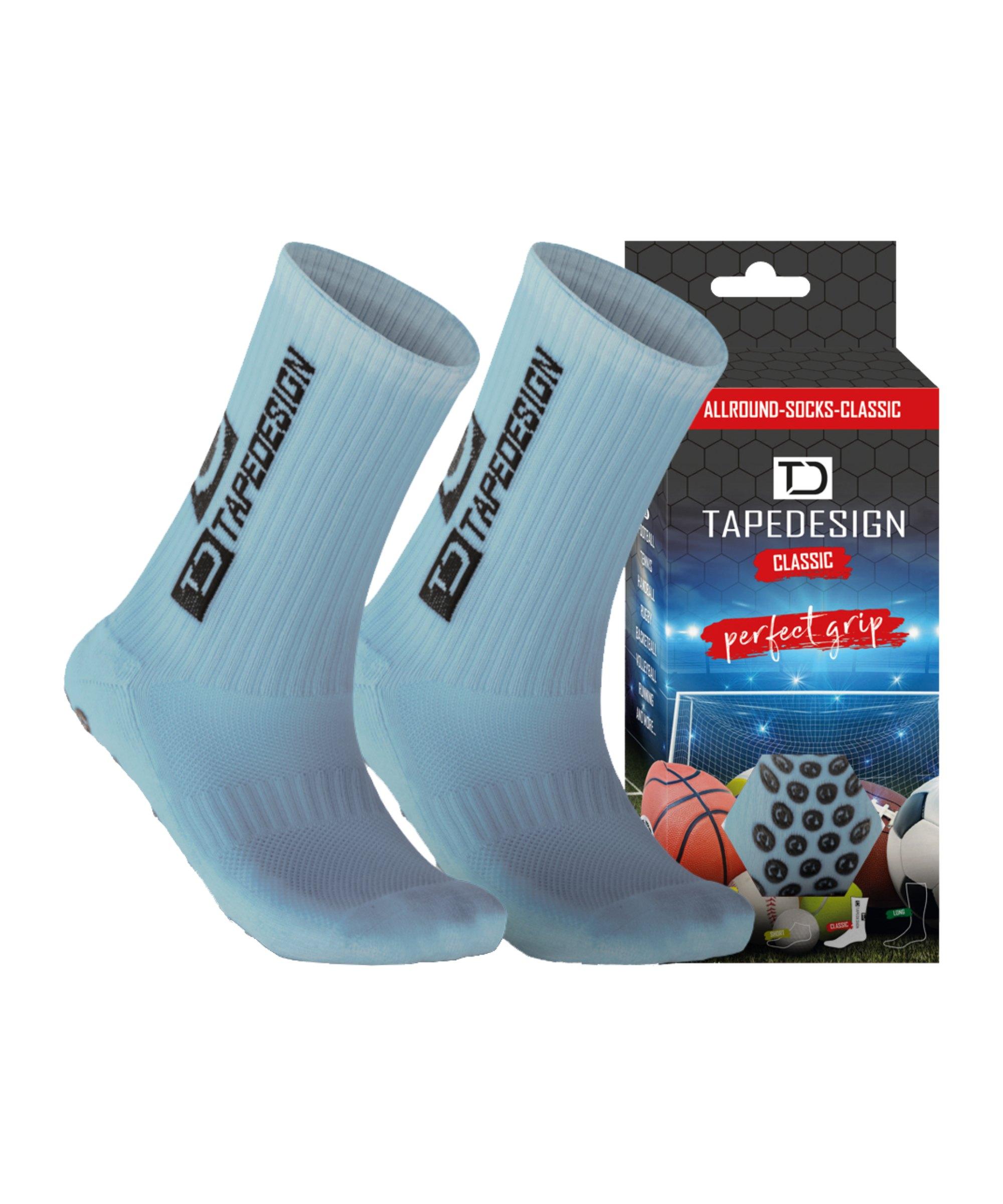 Tapedesign Socks Socken Hellblau F012 - blau