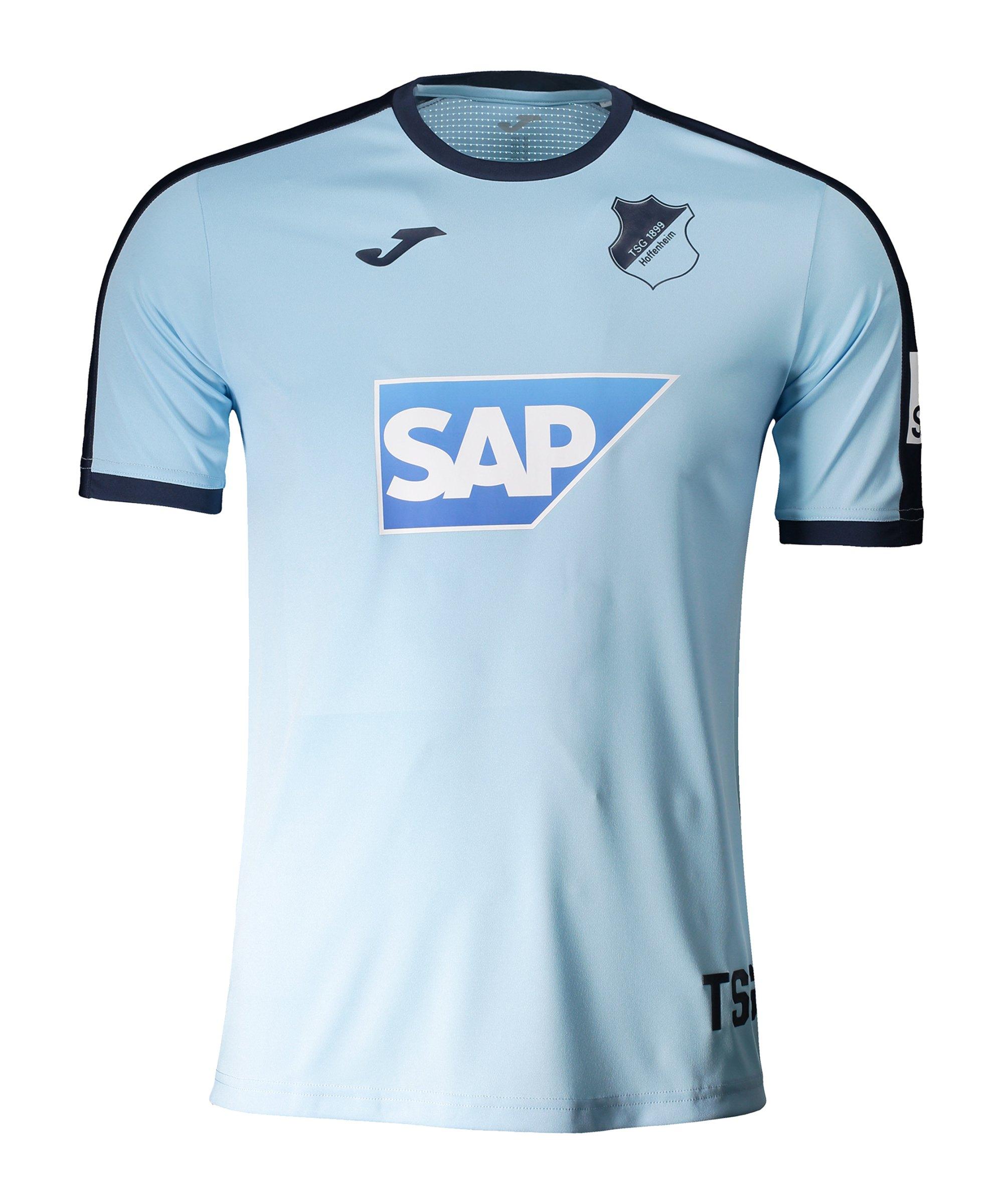 Joma TSG 1899 Hoffenheim Trainings T- Shirt Blau - blau